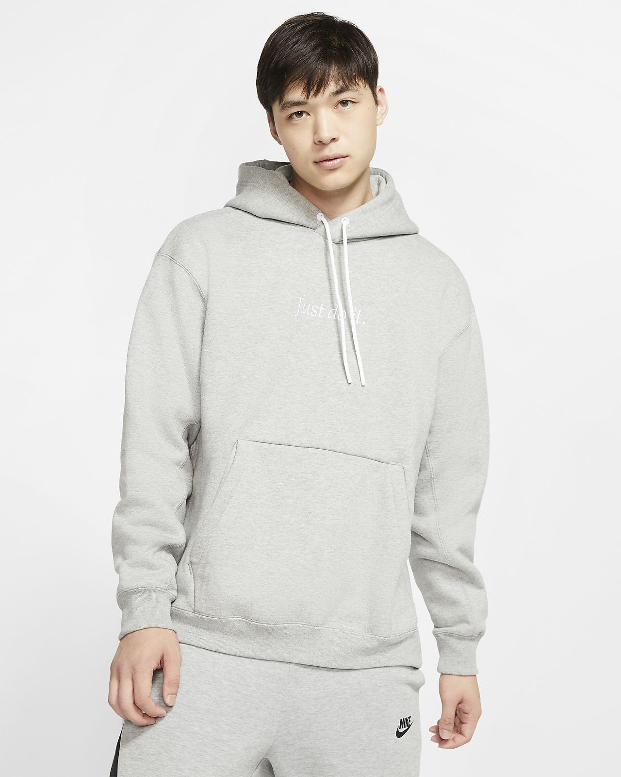 nike little swoosh hoodie