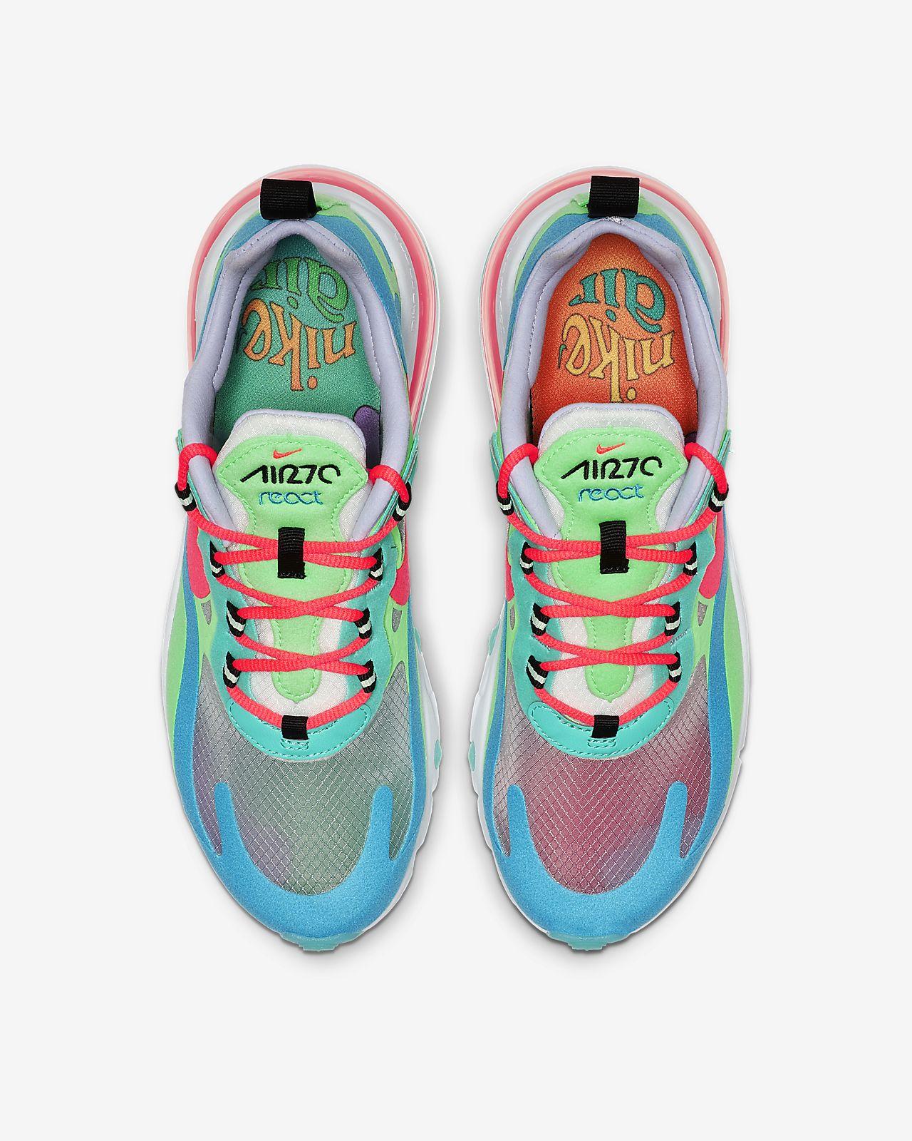 Nike Air Max 270 React W shoes green