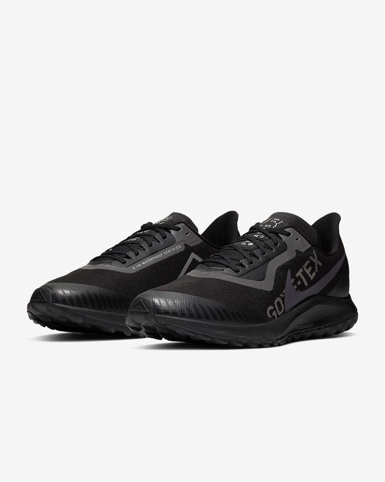Nike Zoom Pegasus 36 Trail Gtx M BV7762 001 futócipő fekete