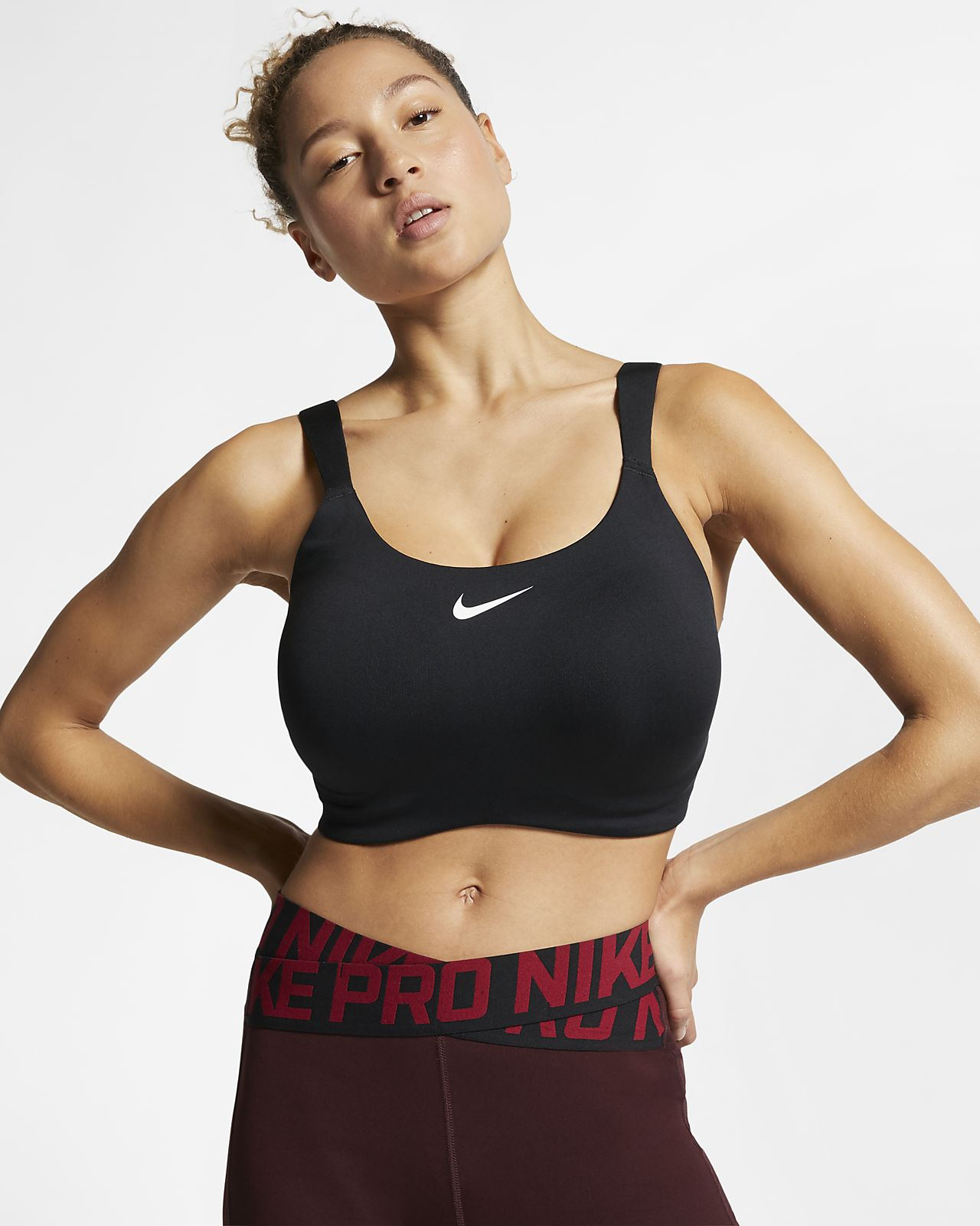 Nike Bold Women's High-Support Underwire Sports Bra (Plus Size)