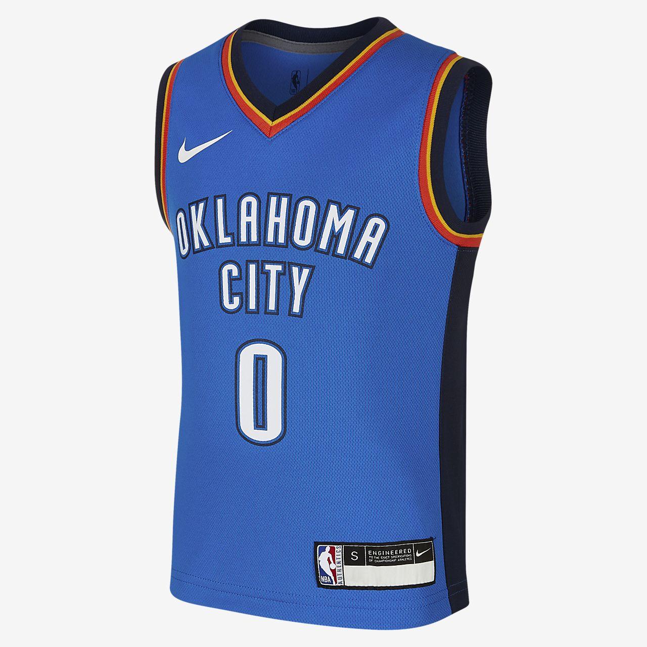 俄克拉荷马城雷霆队 Replica IconNike NBA Jersey幼童球衣