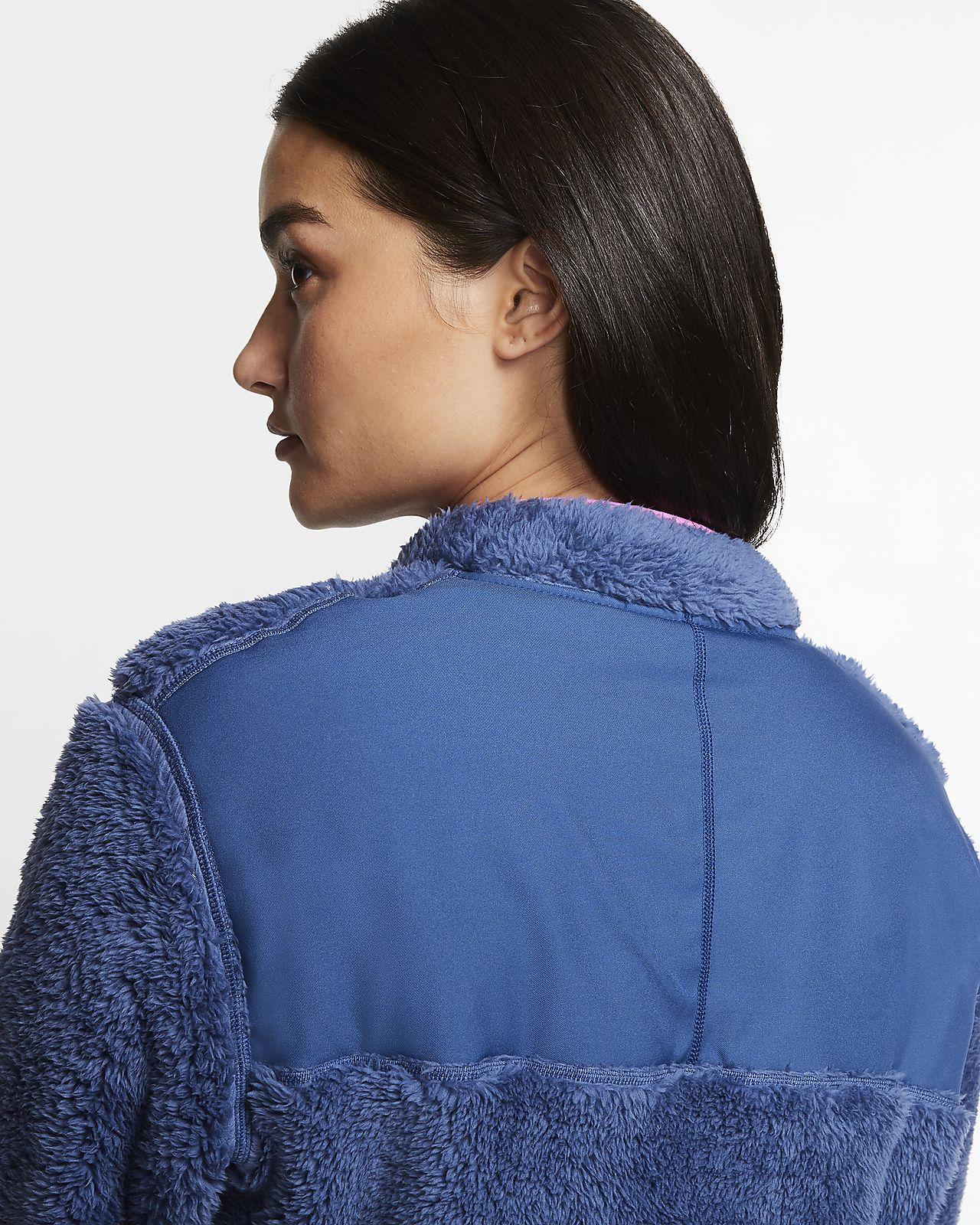 nike 3/4 zip fleece