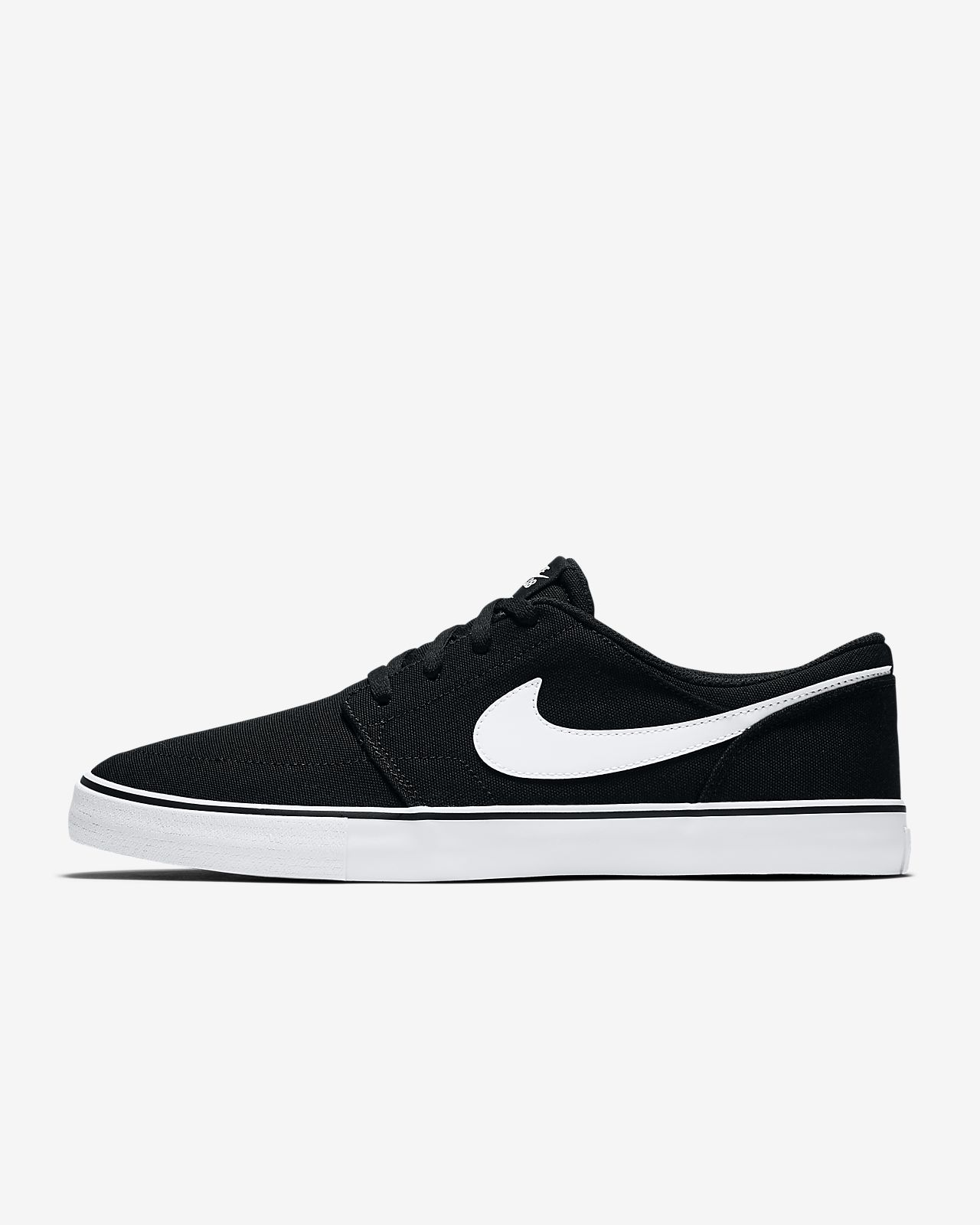 nike black skateboarding shoes