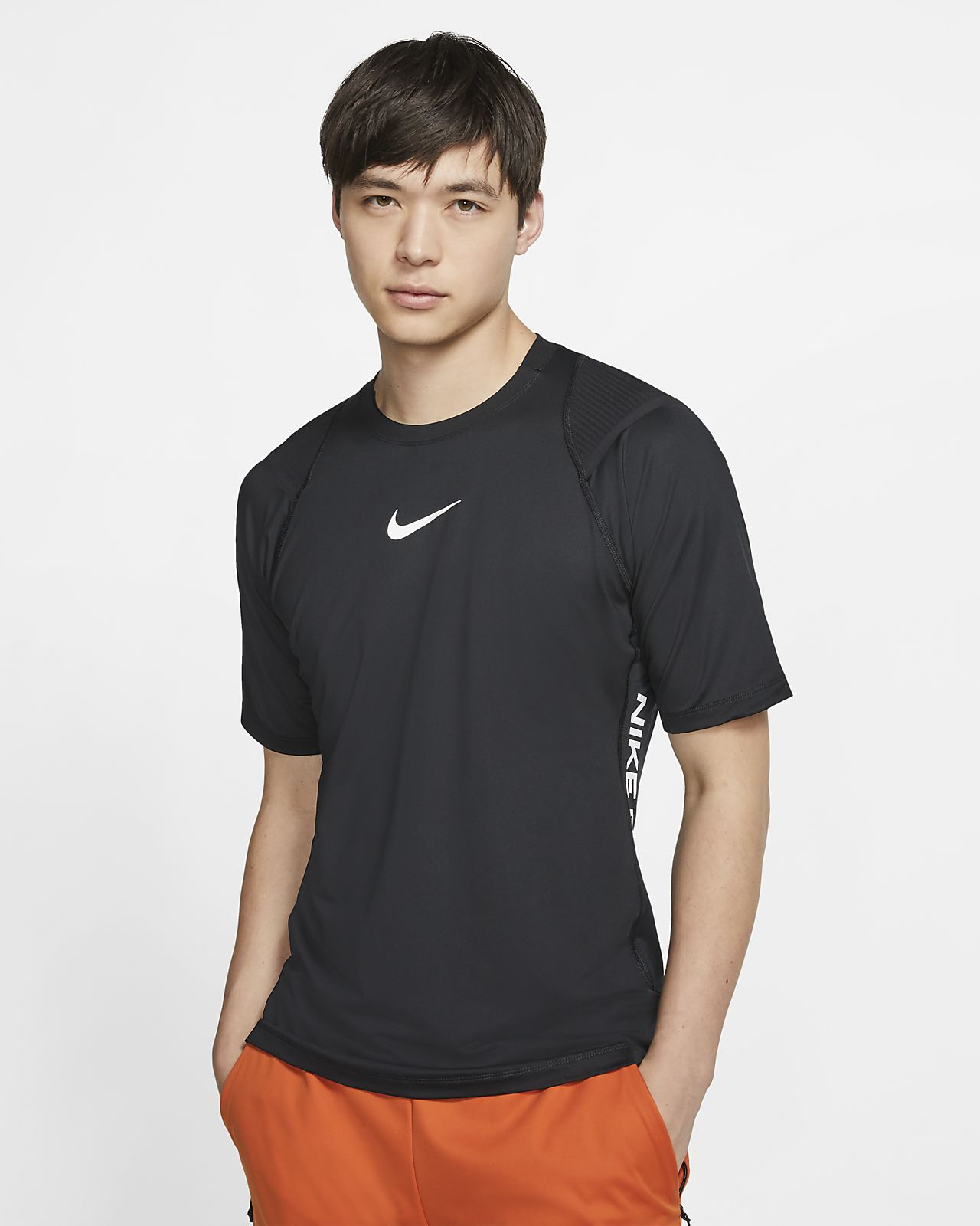 t shirt nike pro homme