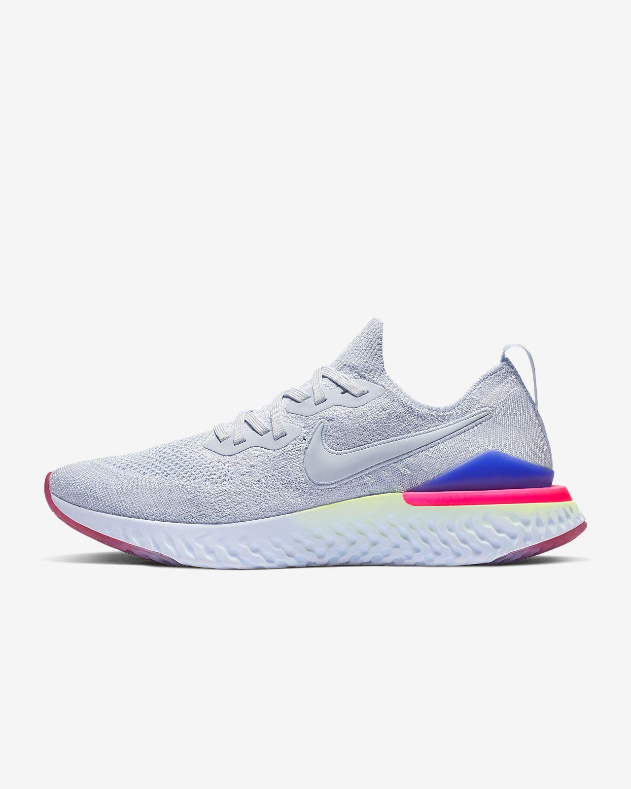 รองเท้าวิ่งผู้ชาย Nike Epic React Flyknit 2