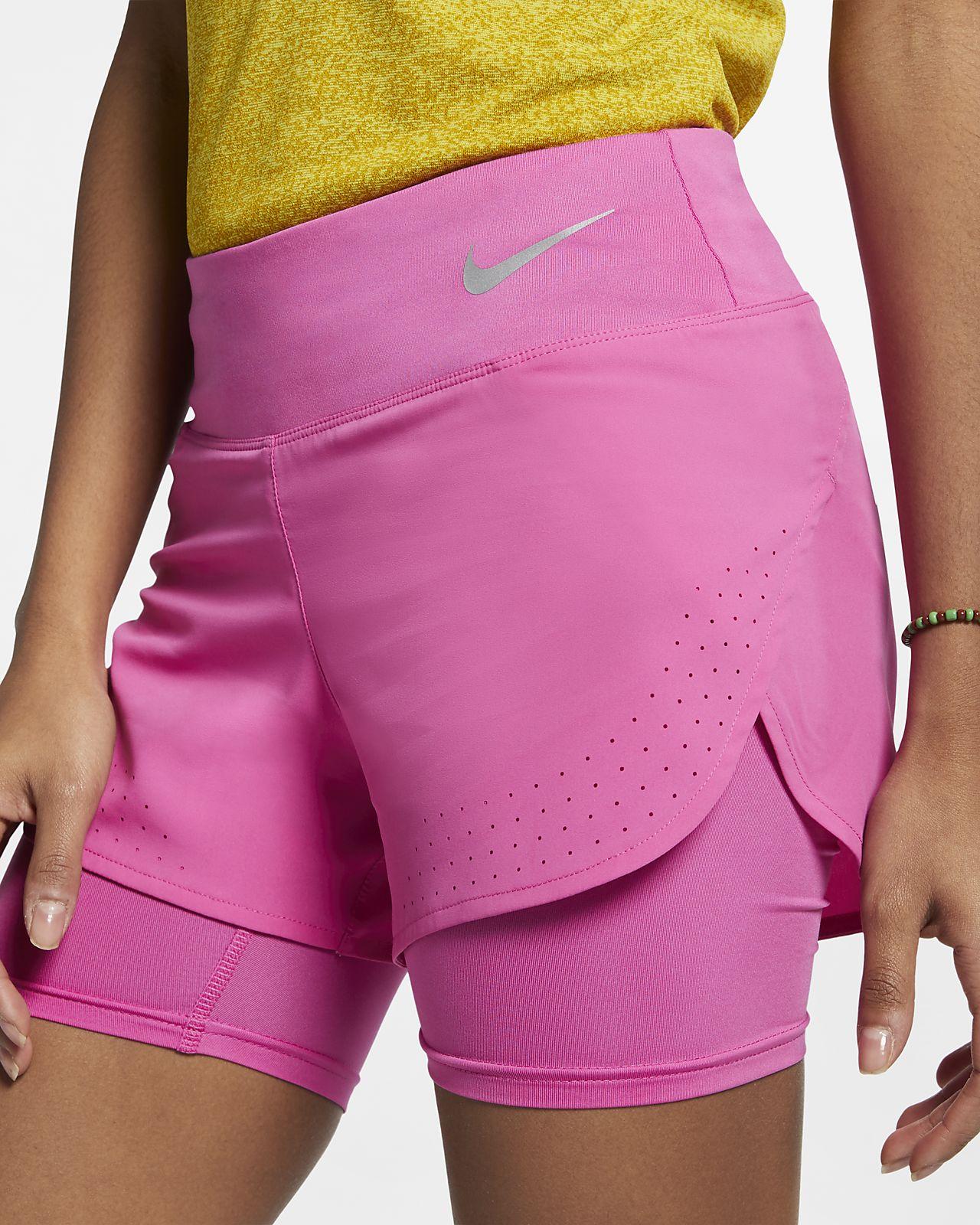 Nike Eclipse Pantalón corto de running 2 en 1 - Mujer