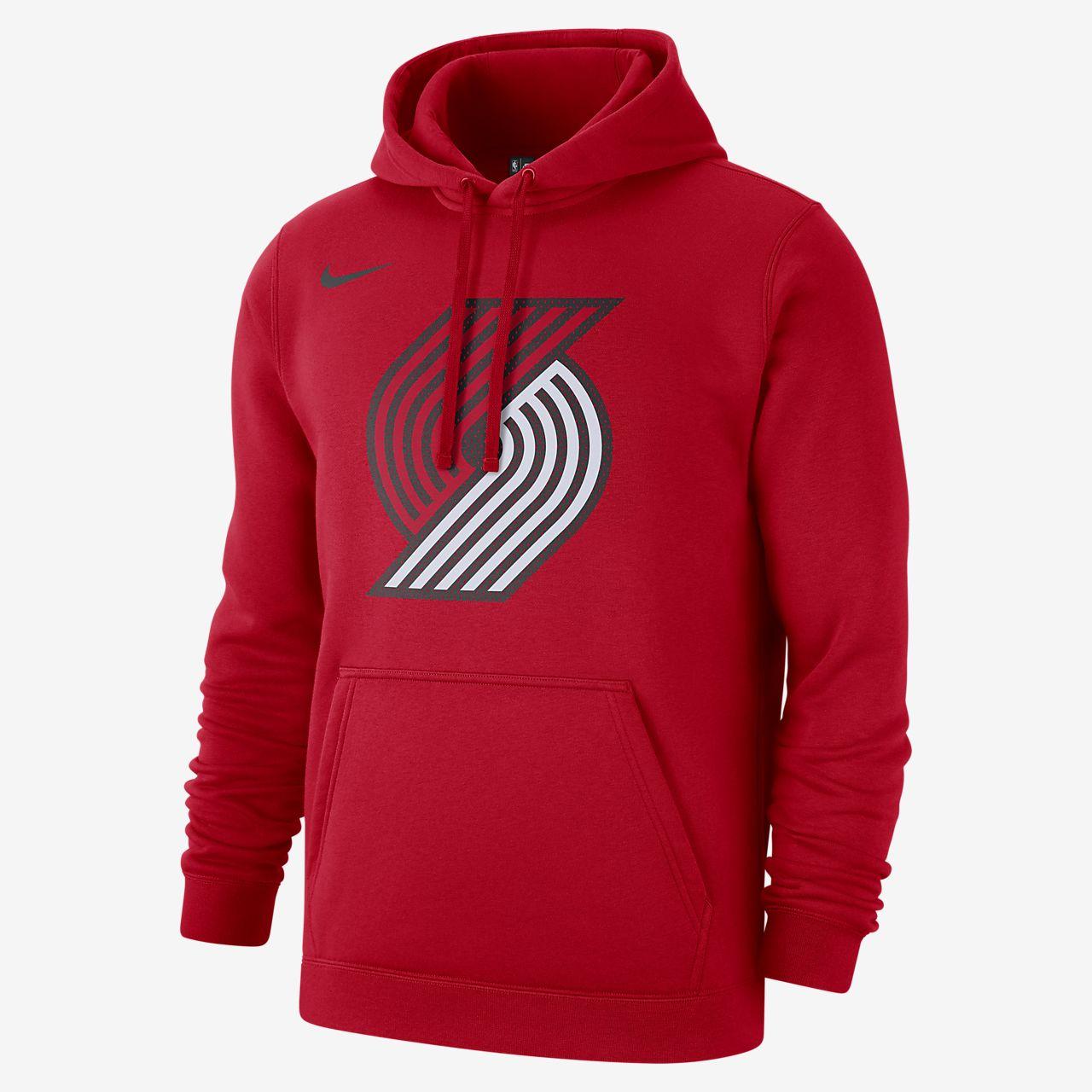 Sudadera con capucha de la NBA para hombre Portland Trail Blazers Nike