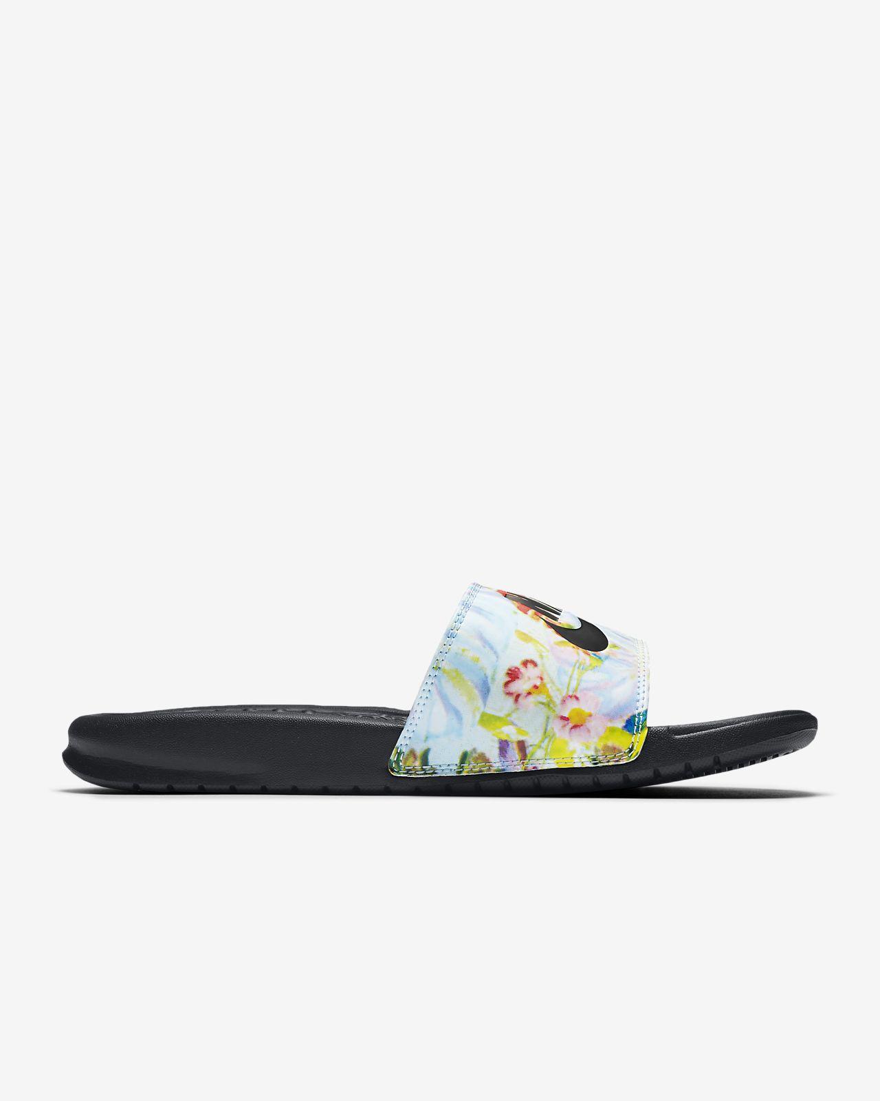 Nike Benassi Jdi Floral Women S Slide Nike Lu