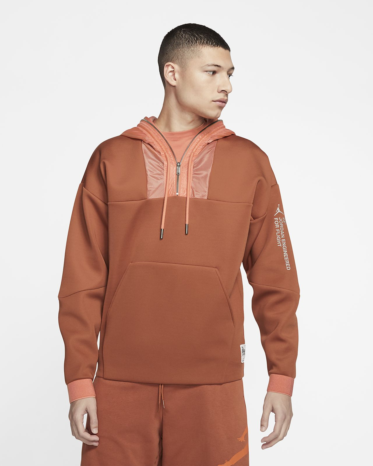 Subproducto carpeta Universidad  Jordan 23 Engineered 1/2-Zip Pullover Hoodie. Nike ZA