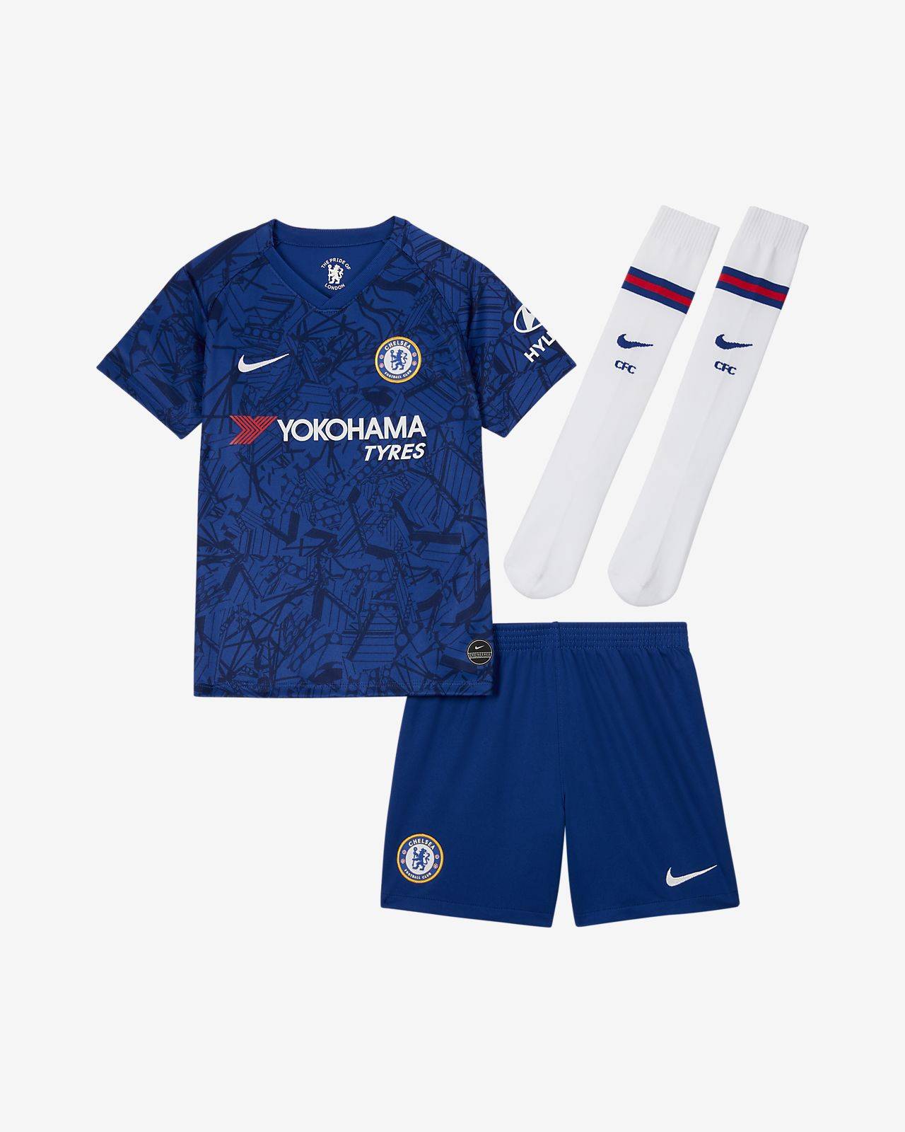 Chelsea FC 2019/20 Stadium Home Younger Kids' Football Kit