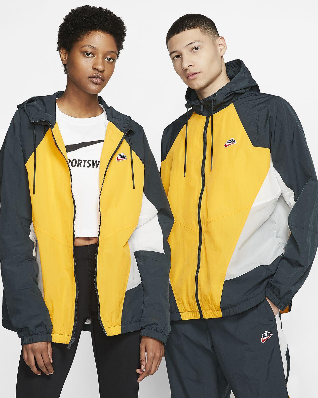 nike sportswear yellow