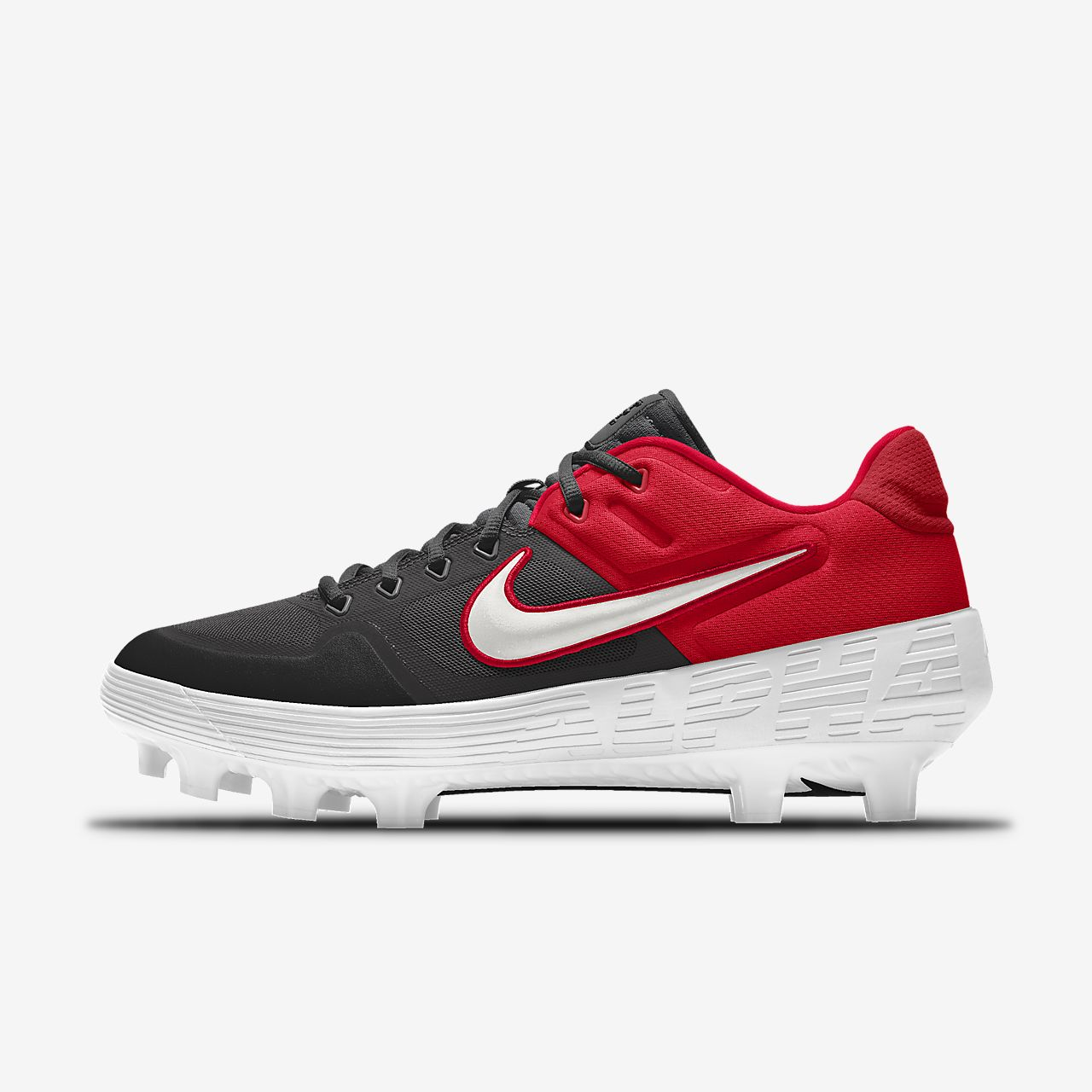 Chaussure de baseball à crampons personnalisable Nike Alpha Huarache Elite 2 Low MCS By You