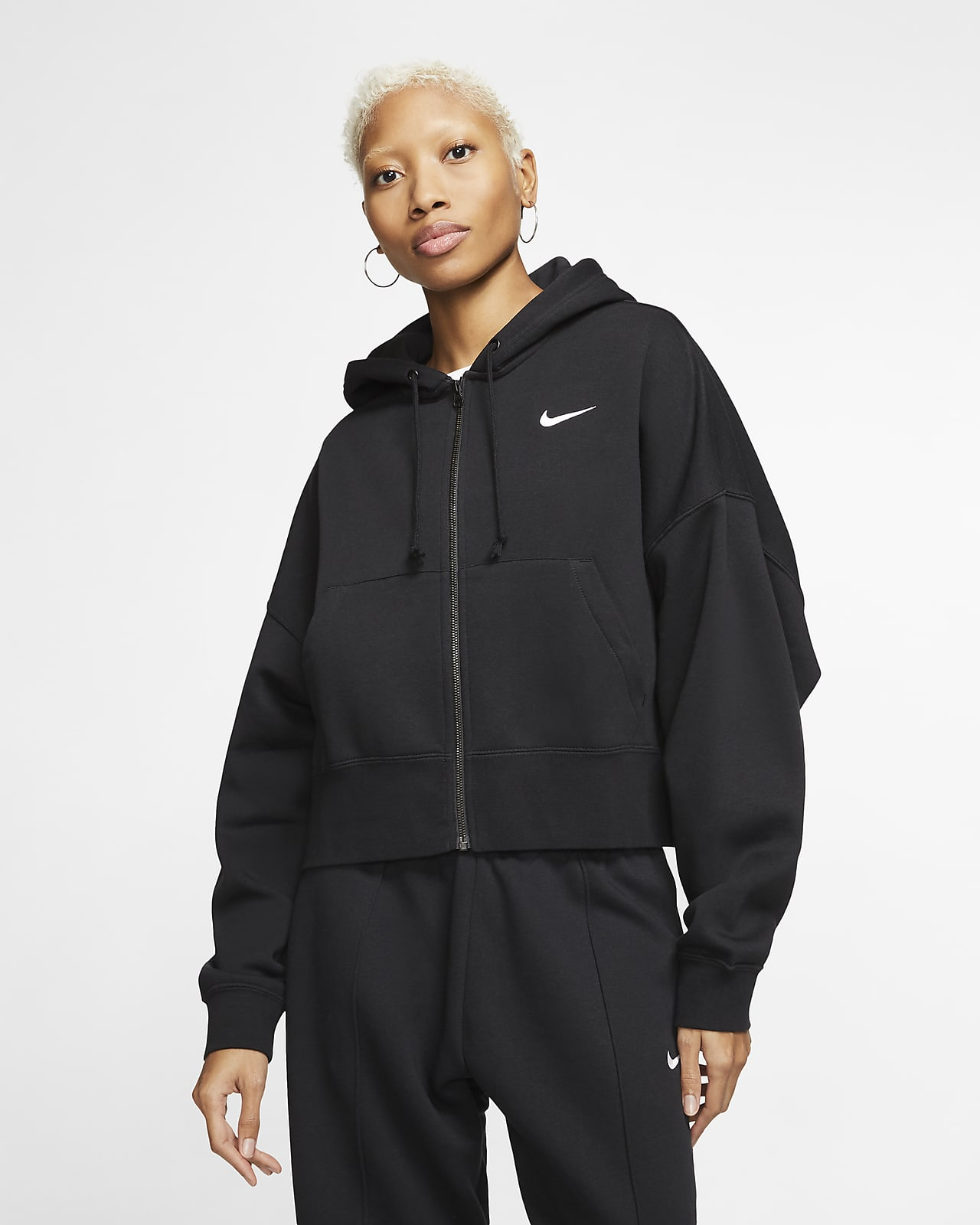 Nike Sportswear Essential Women's Full-Zip Fleece Hoodie