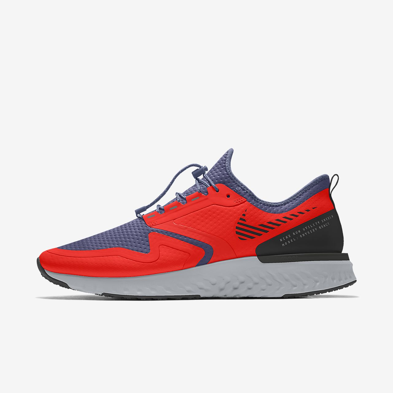 Nike Odyssey React Shield By You personalisierbarer Damen-Laufschuh