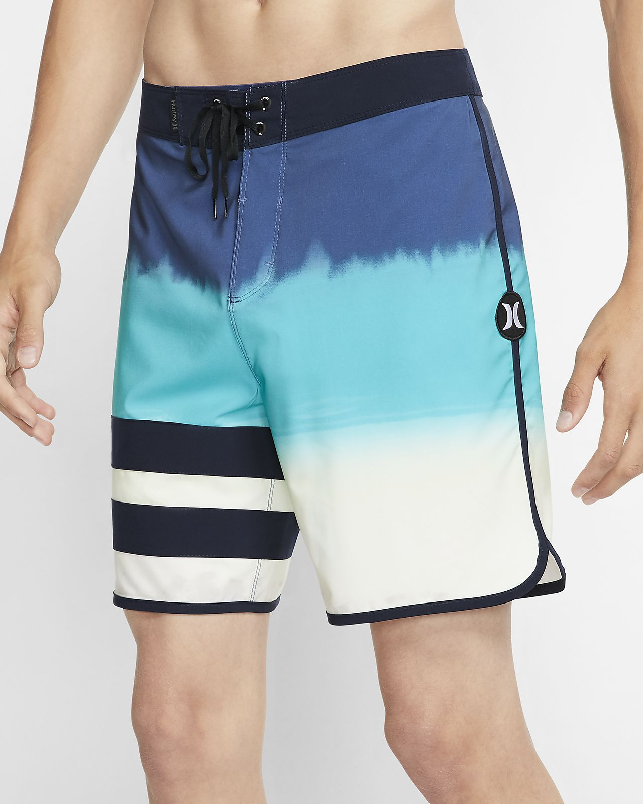 Shorts de playa de 46 cm para hombre Hurley Phantom Block Party Fever