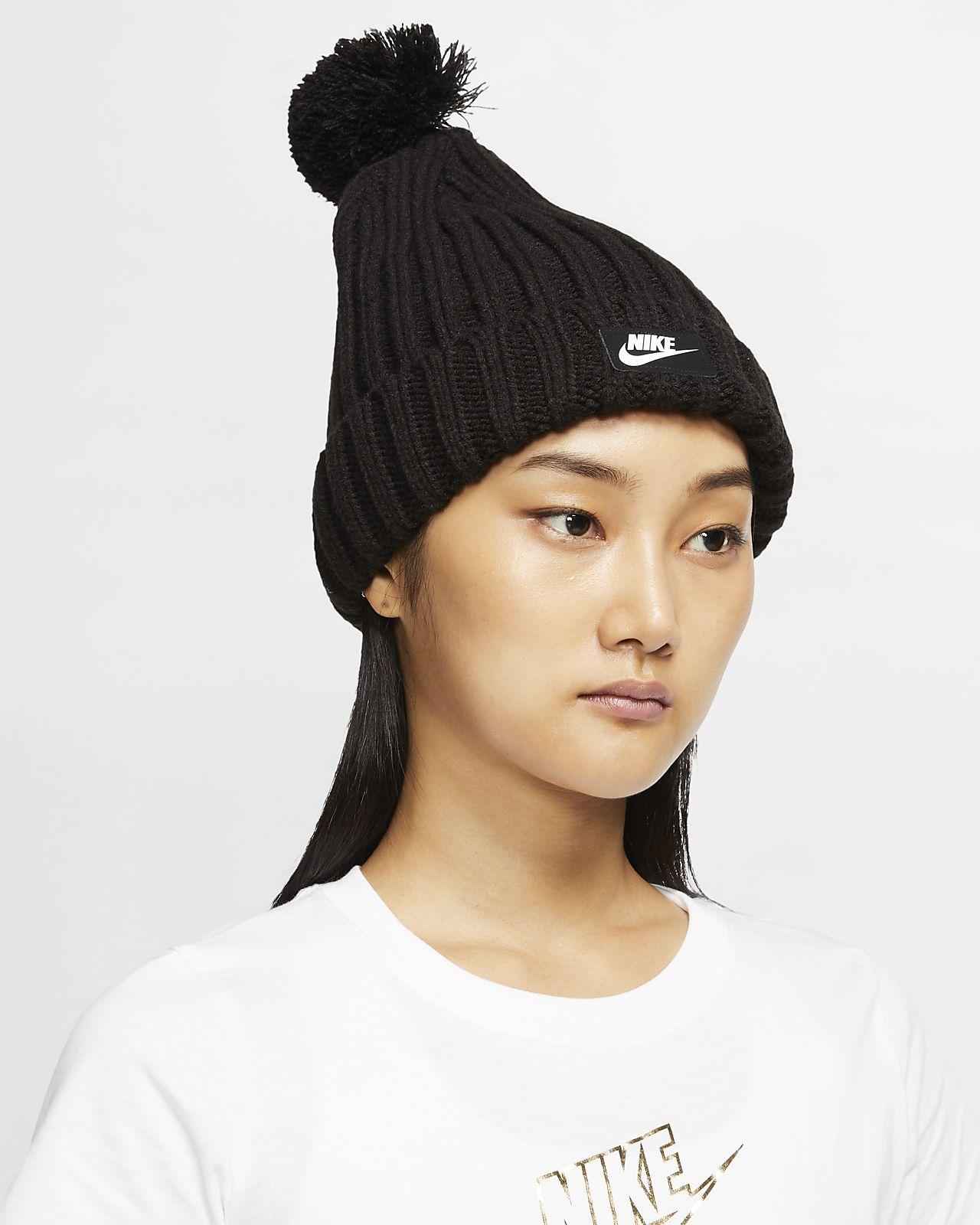 Nike Sportswear Cuffed Pom 针织帽