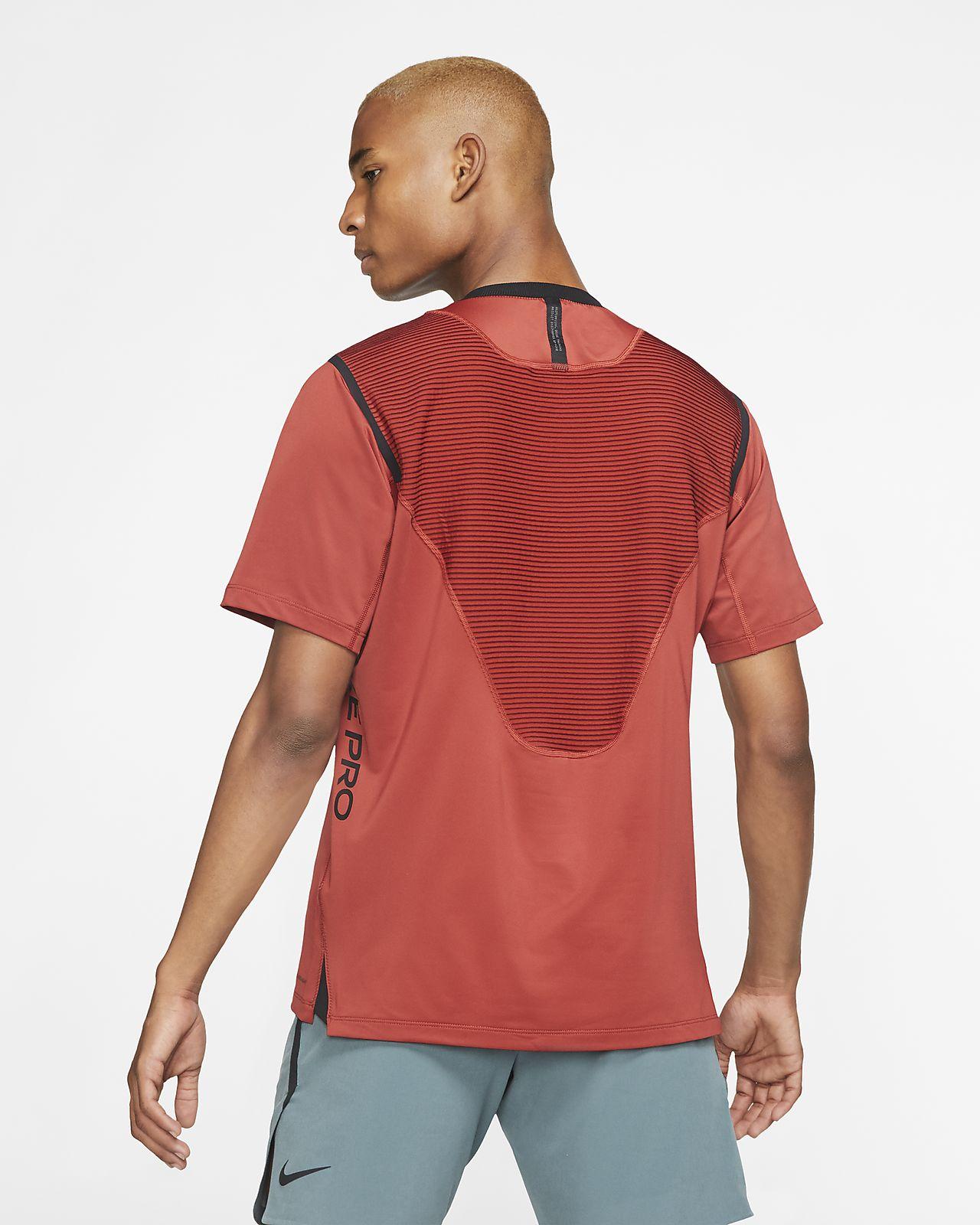 Camisola de manga curta Nike Pro AeroAdapt para homem