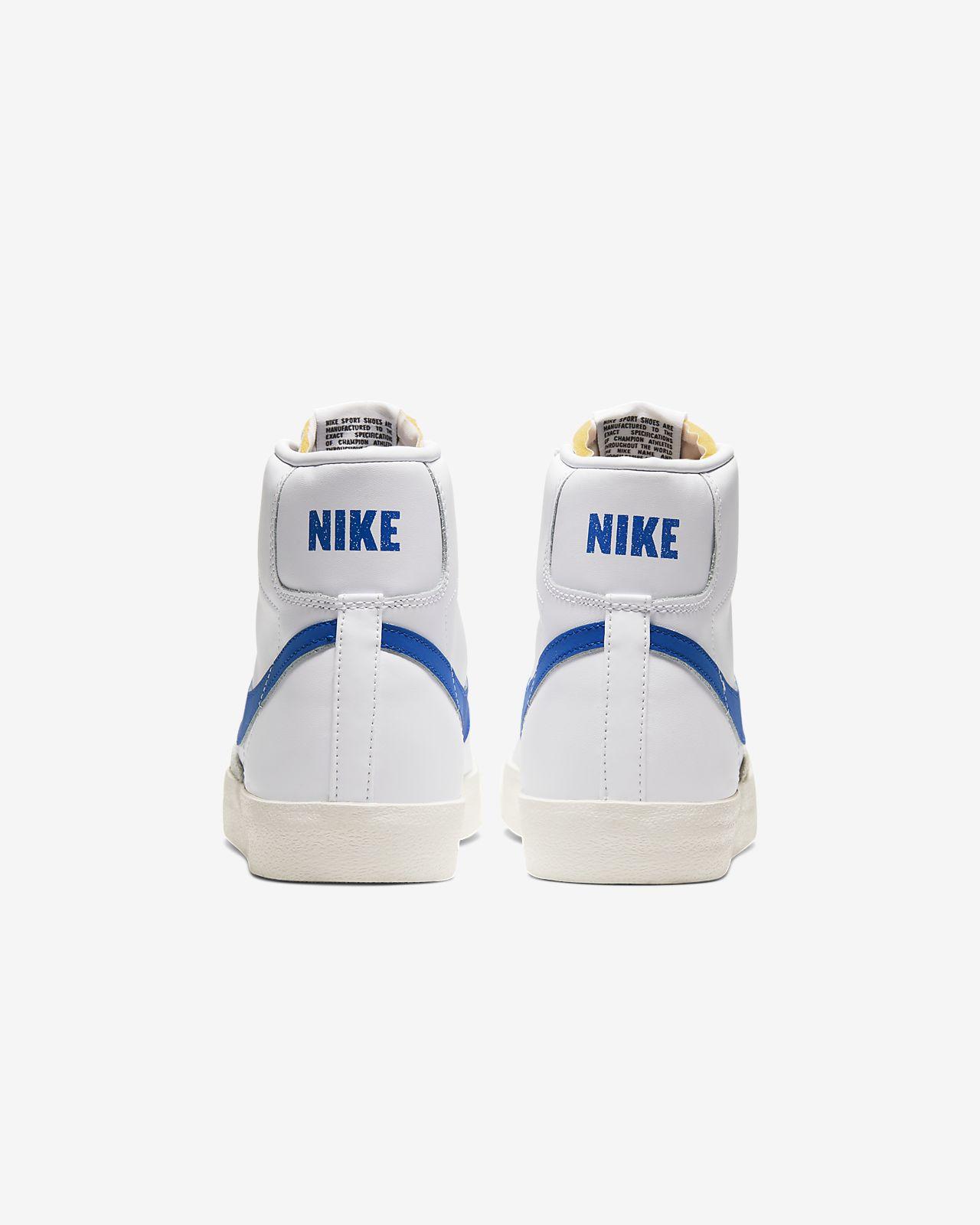 Nike Blazer Mid '77 Vintage Męskie Białe (BQ6806 103)