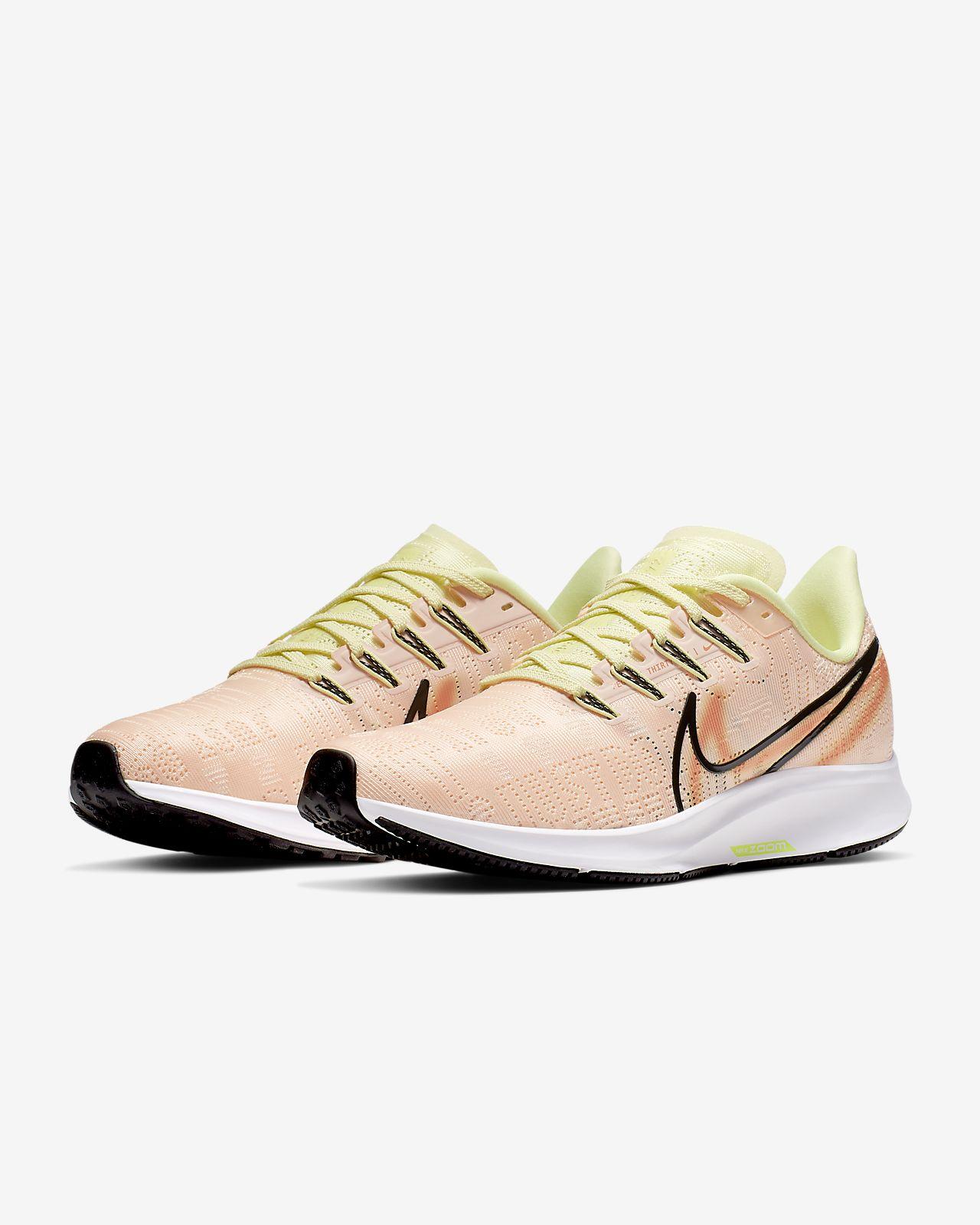 Nike W Air Zoom Pegasus 36 Prm Rise Sport shoes in Pink at