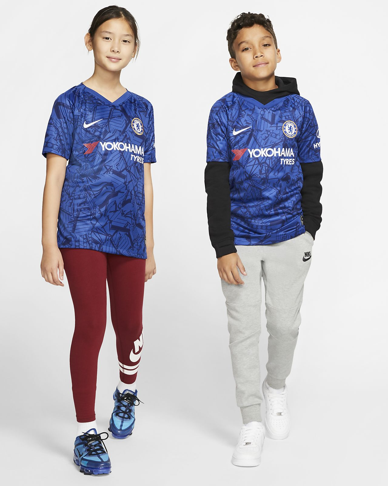 Chelsea FC 2019/20 Stadium Home Camiseta de fútbol - Niño/a