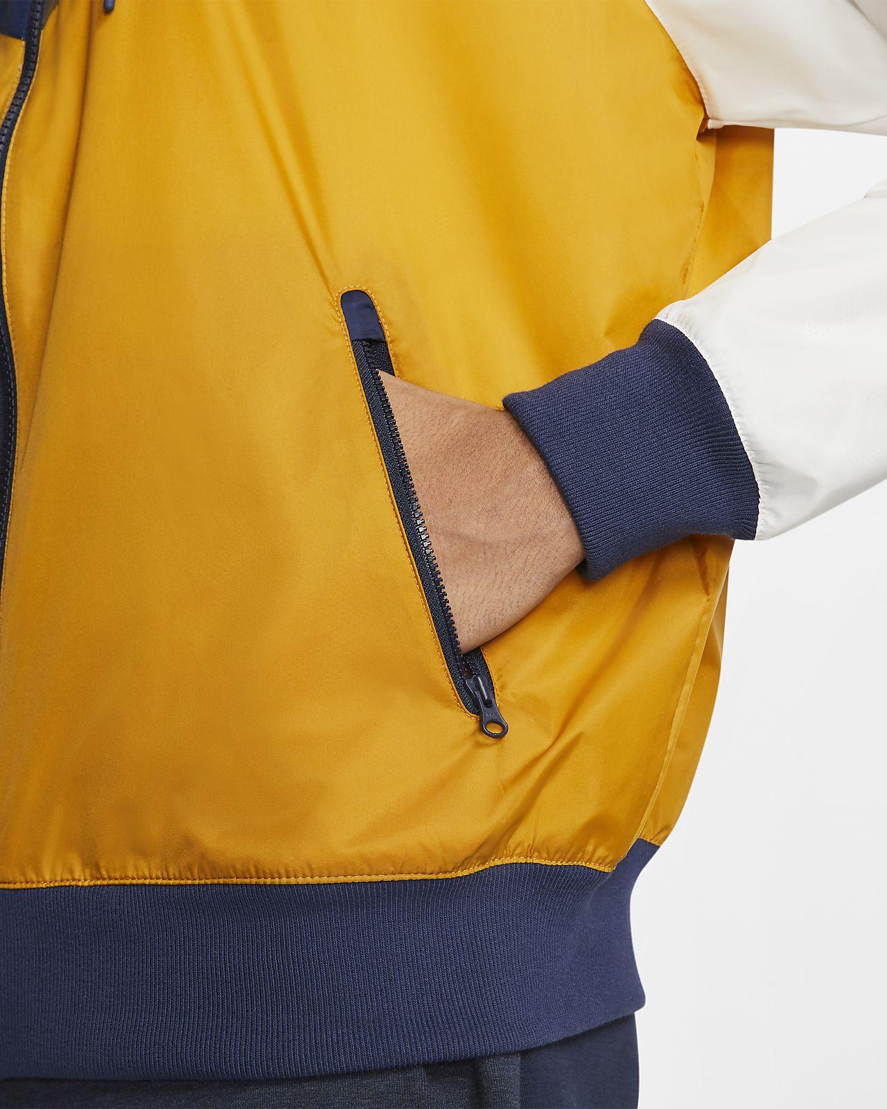 coupe vent nike sportswear orange