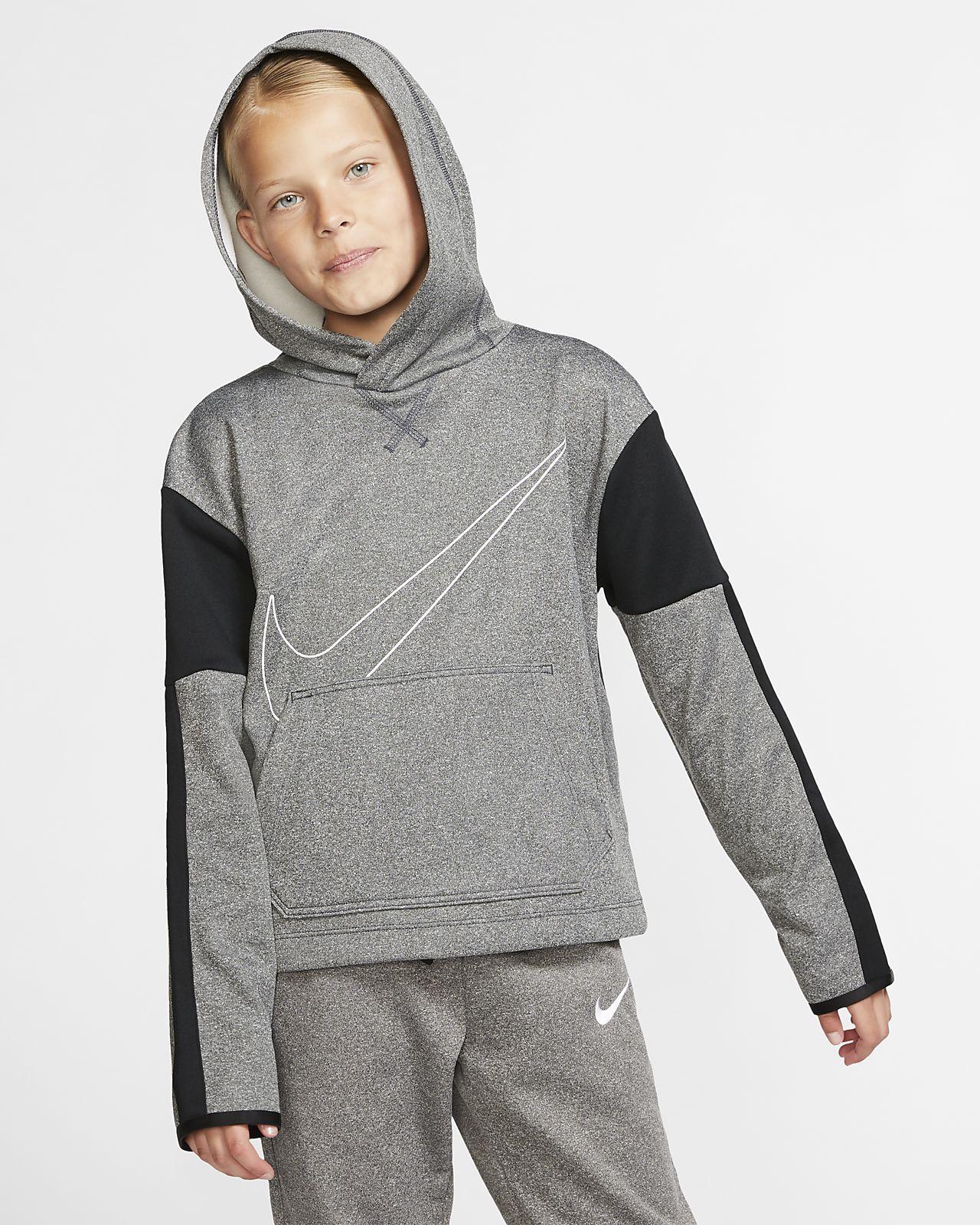 Nike Girls Therma Fit Graphic Sweatshirt Small