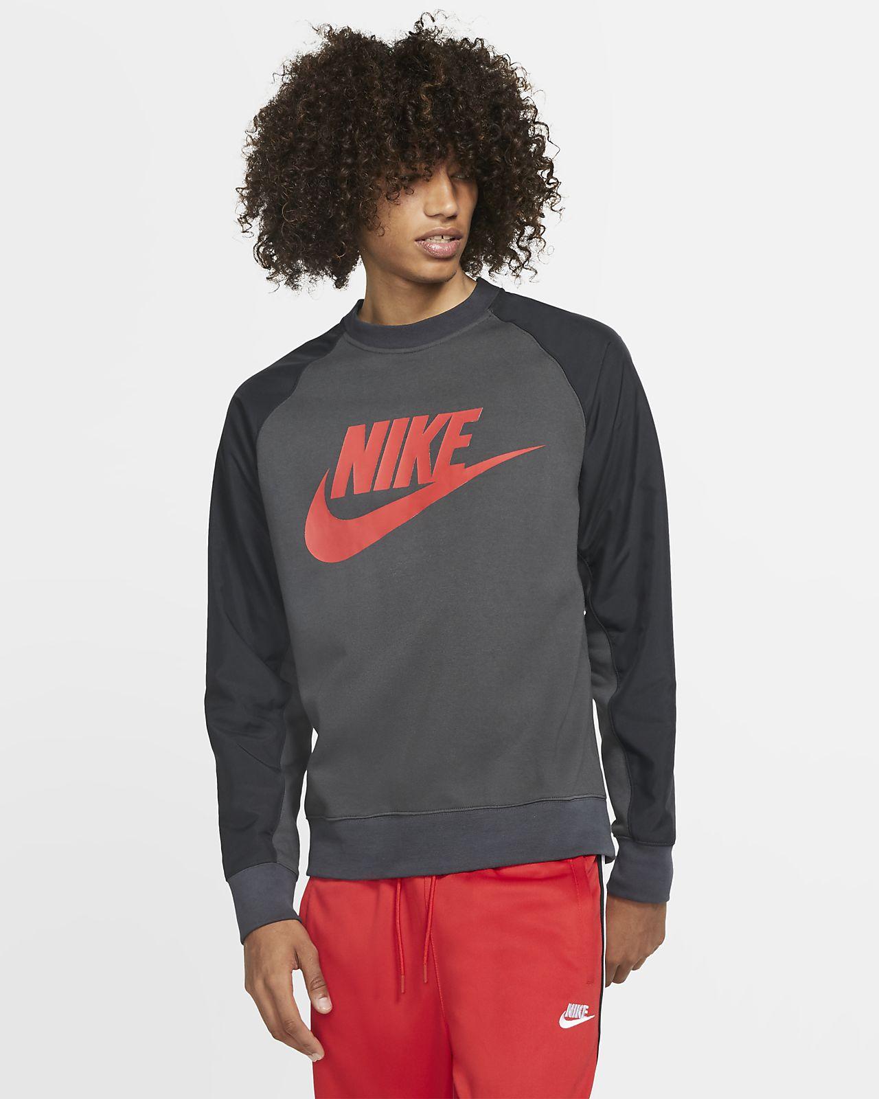 Pánská mikina Nike Sportswear s kulatým výstřihem a grafickým motivem