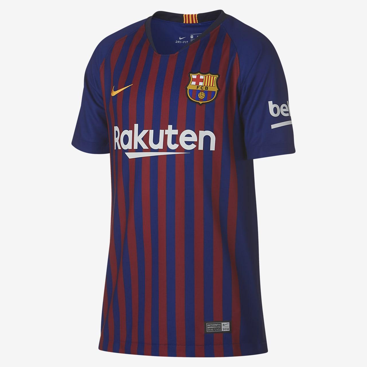 Maillot de football 2018/19 FC Barcelona Stadium Home pour Enfant plus âgé