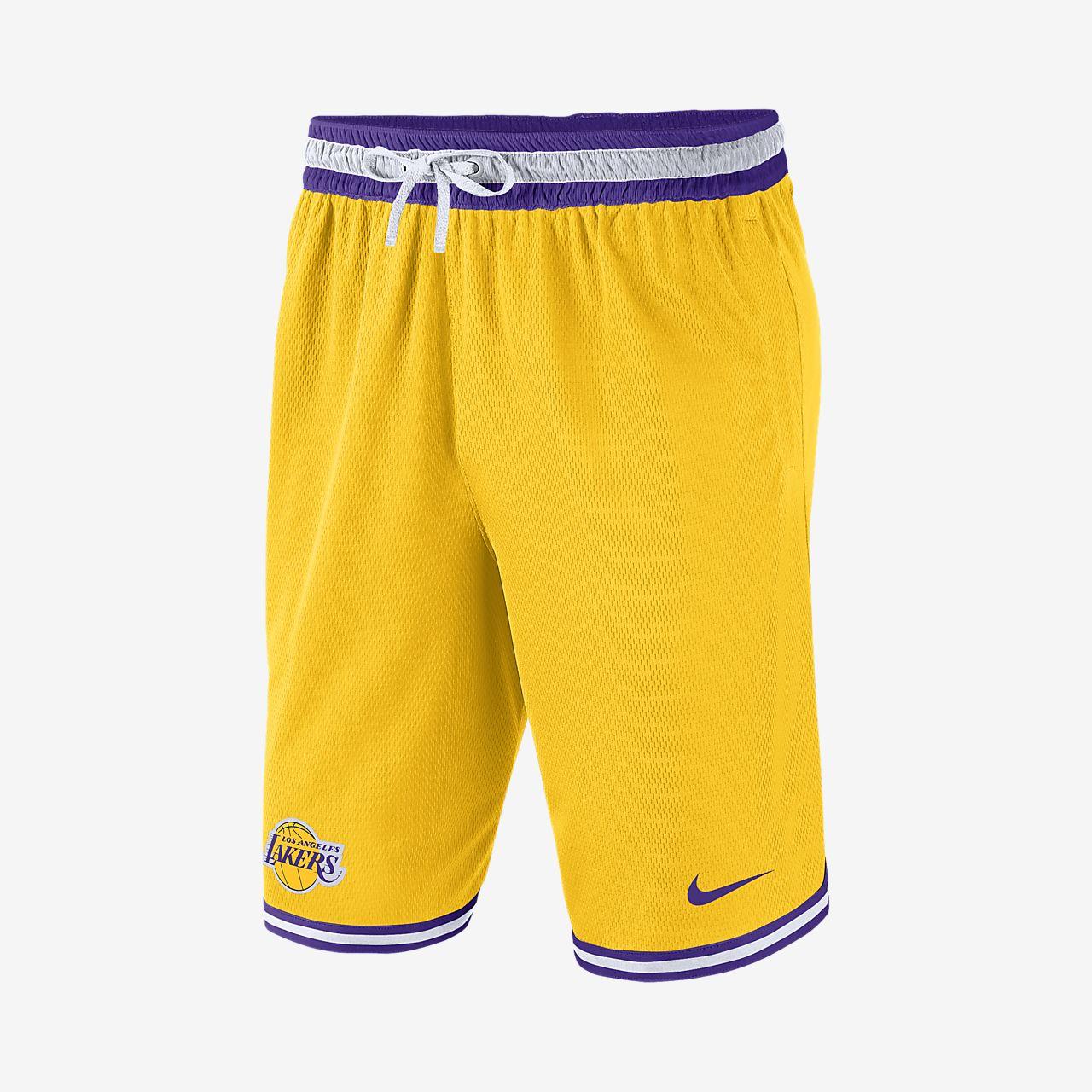 Shorts de la NBA para hombre Los Angeles Lakers Nike