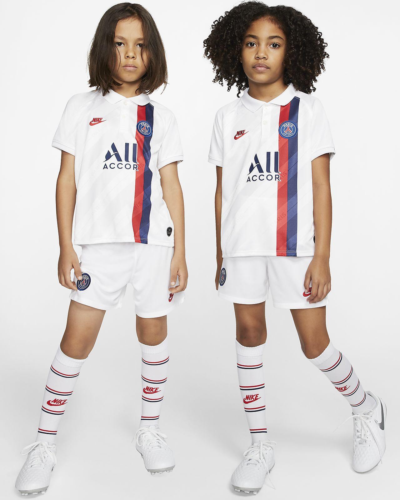 Kit de fútbol alternativo para niños talla pequeña del Paris Saint-Germain 2019/20