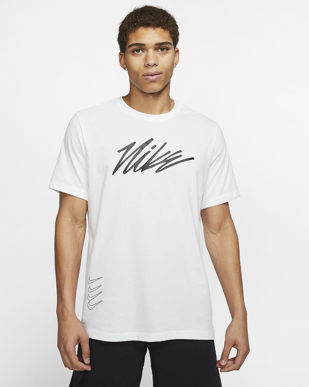 Tee-shirt de training à motifs Nike Dri-FIT pour Homme