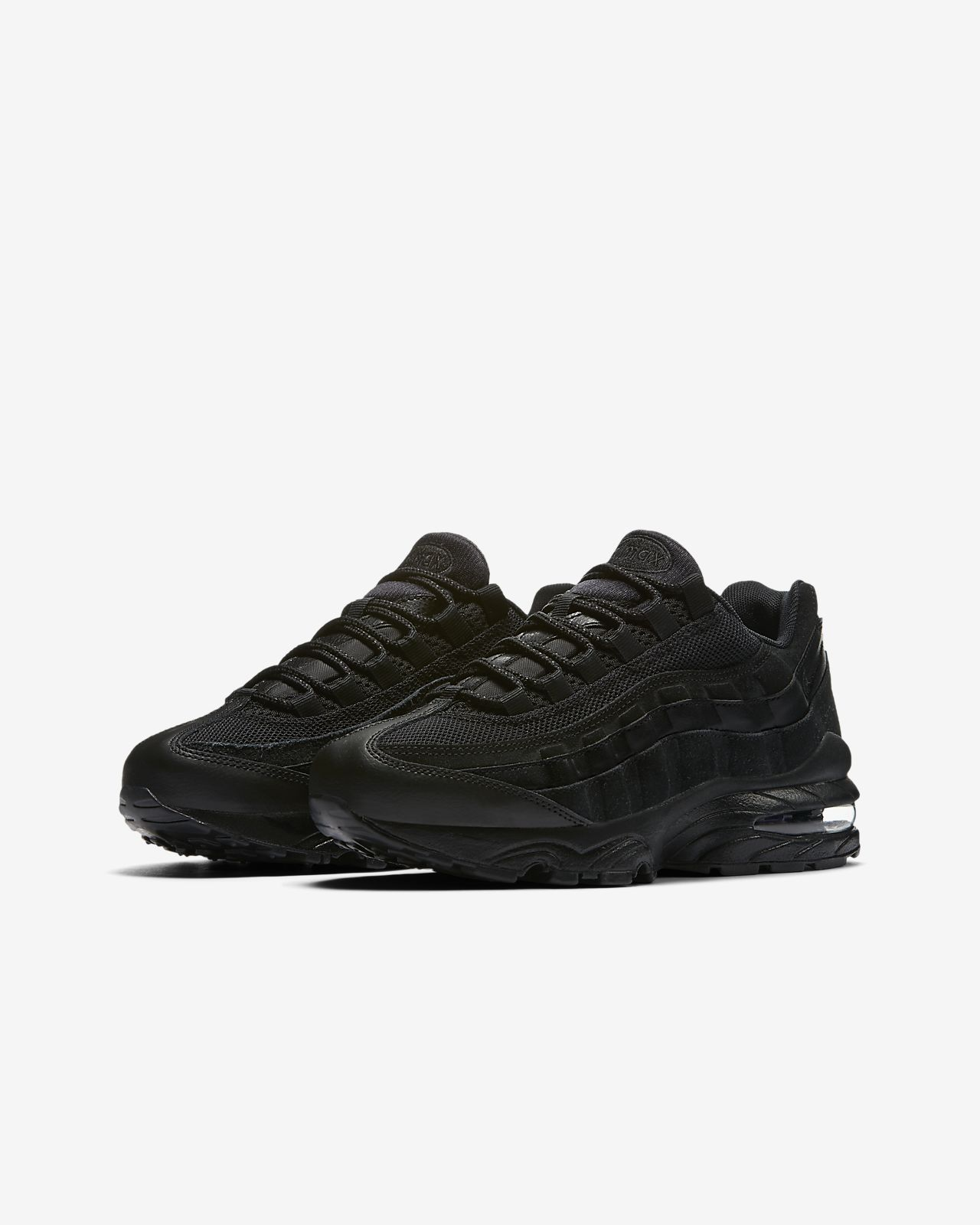 Air Max 95 Leather And Mesh Trainers