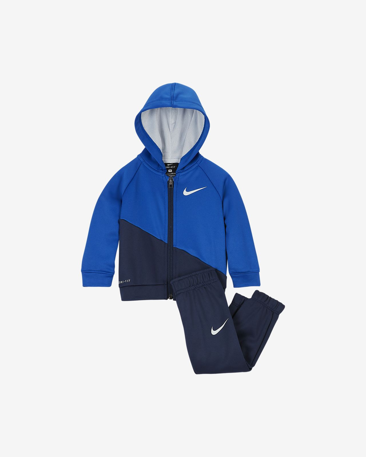 Nike Therma Baby Hoodie & Joggers 2-Piece Set
