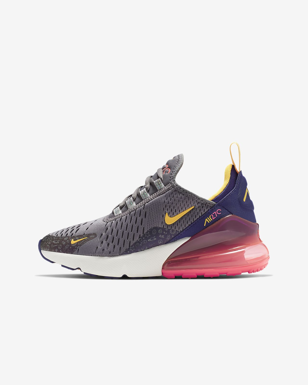 bestia quemado Indomable  Nike Air Max 270 Big Kids' Shoe. Nike.com