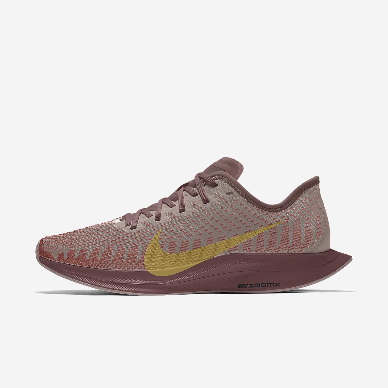 Calzado de running para mujer personalizado Nike Zoom Pegasus Turbo 2 Premium By You