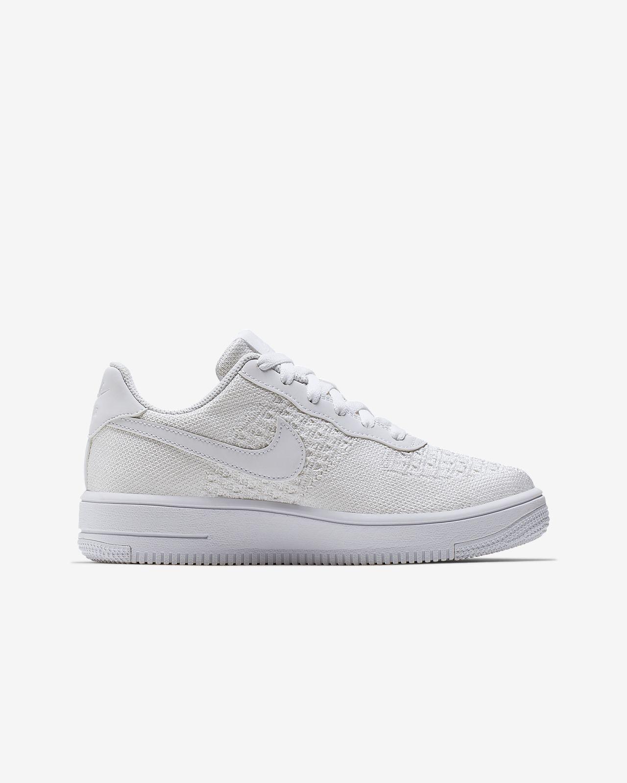 Nike Air Force 1 Flyknit 2.0 YoungerOlder Kids' Shoe