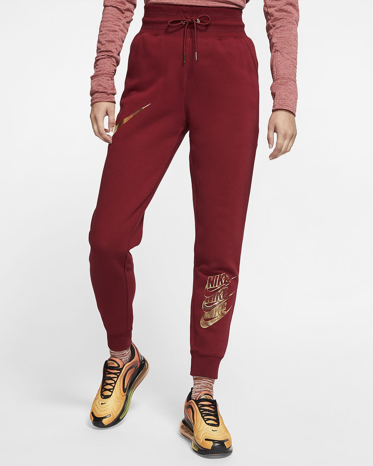 Nike Sportswear Junior Sett Woven Track Suit Team Red