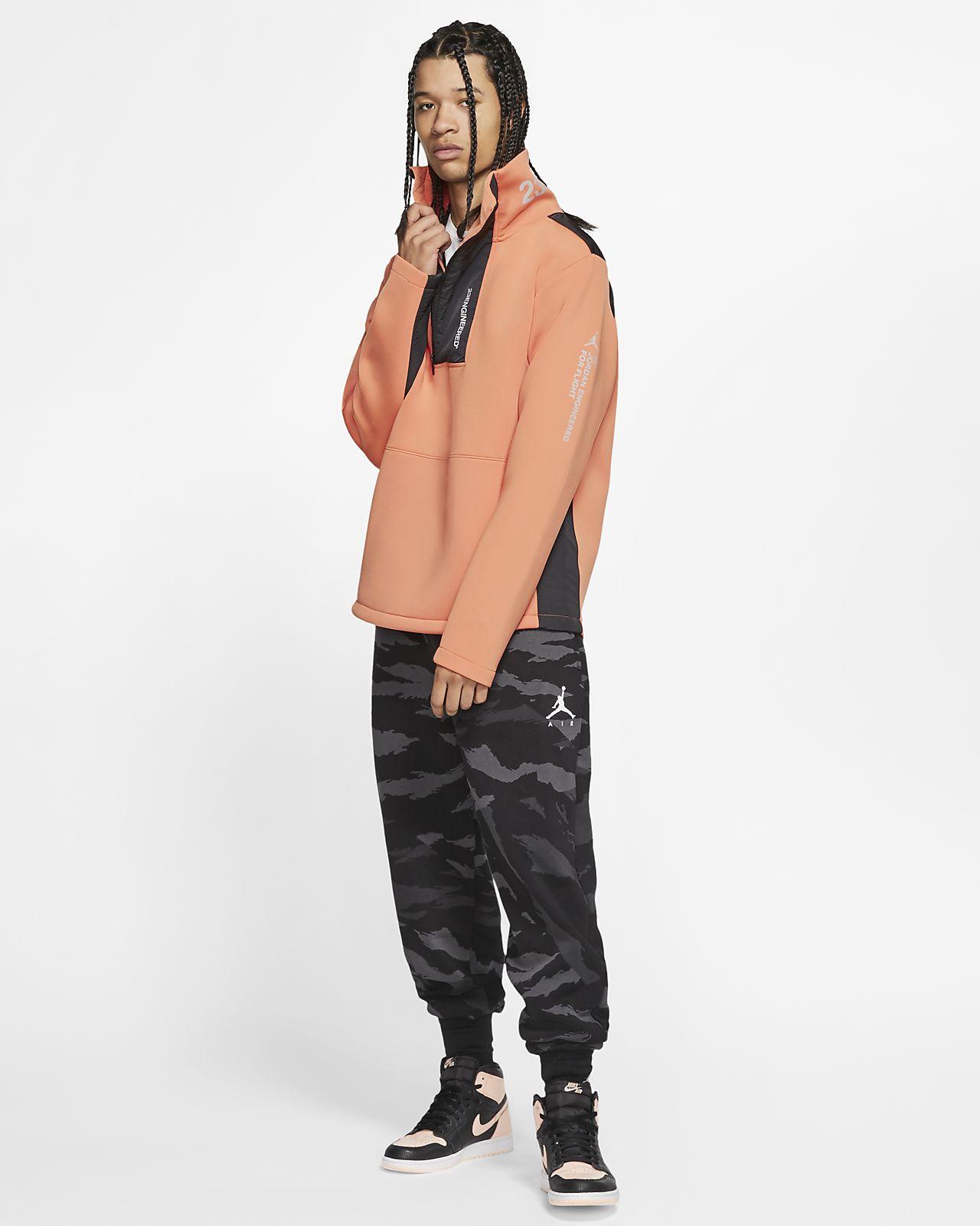 Jordan 23 Engineered Fleece Mock Neck Pullover   Nike fleece