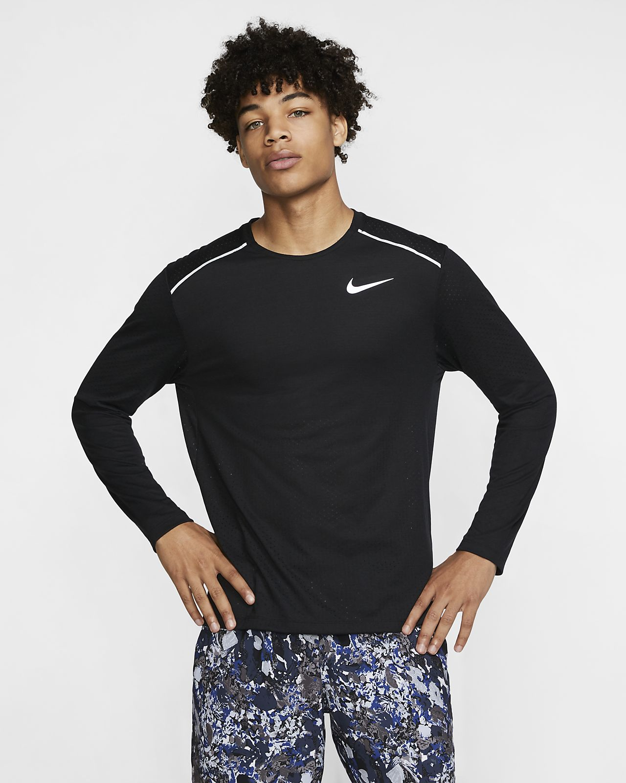 Nike Rise 365 Men's Long-Sleeve Running Top