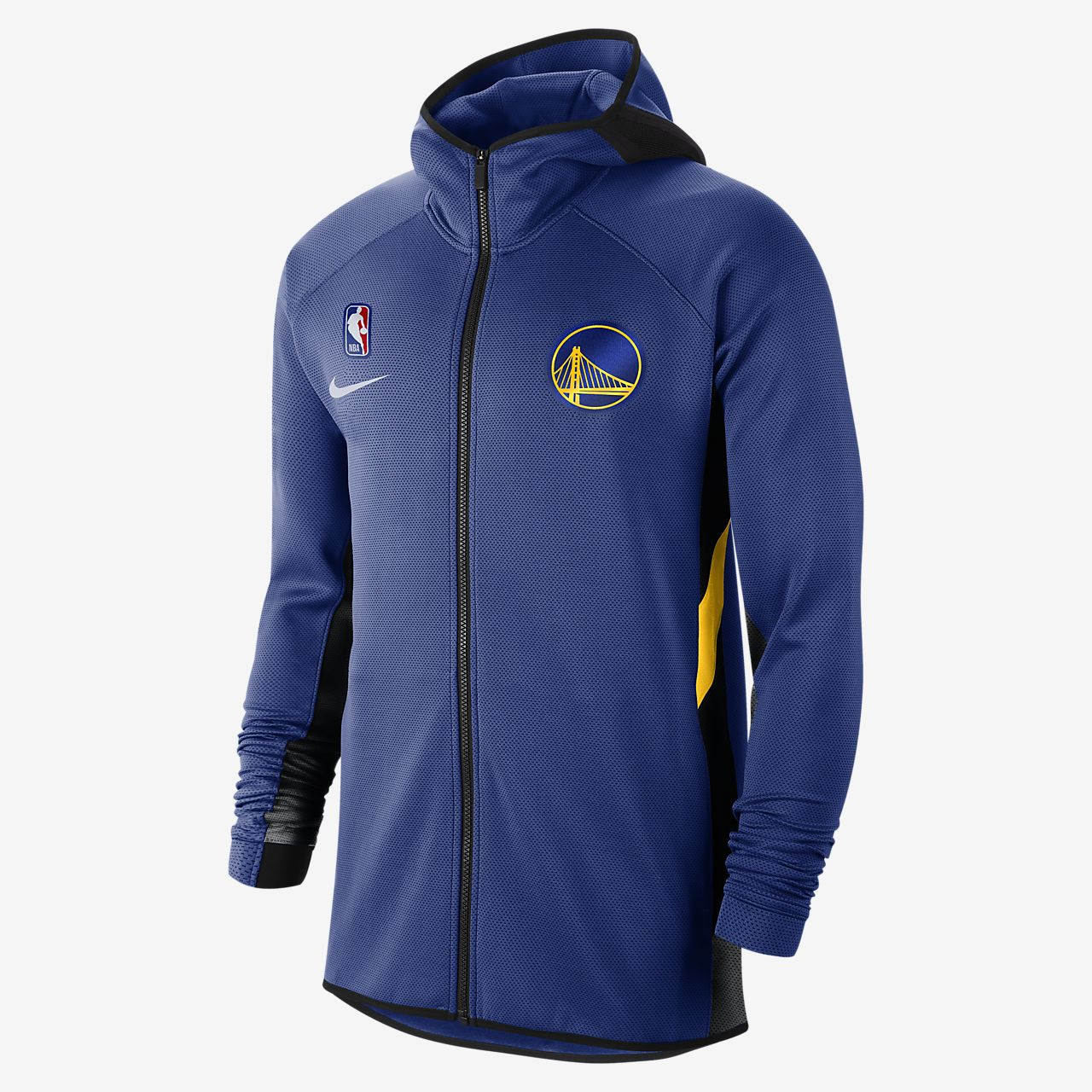 Golden State Warriors Showtime Men's Nike Therma Flex NBA Hoodie