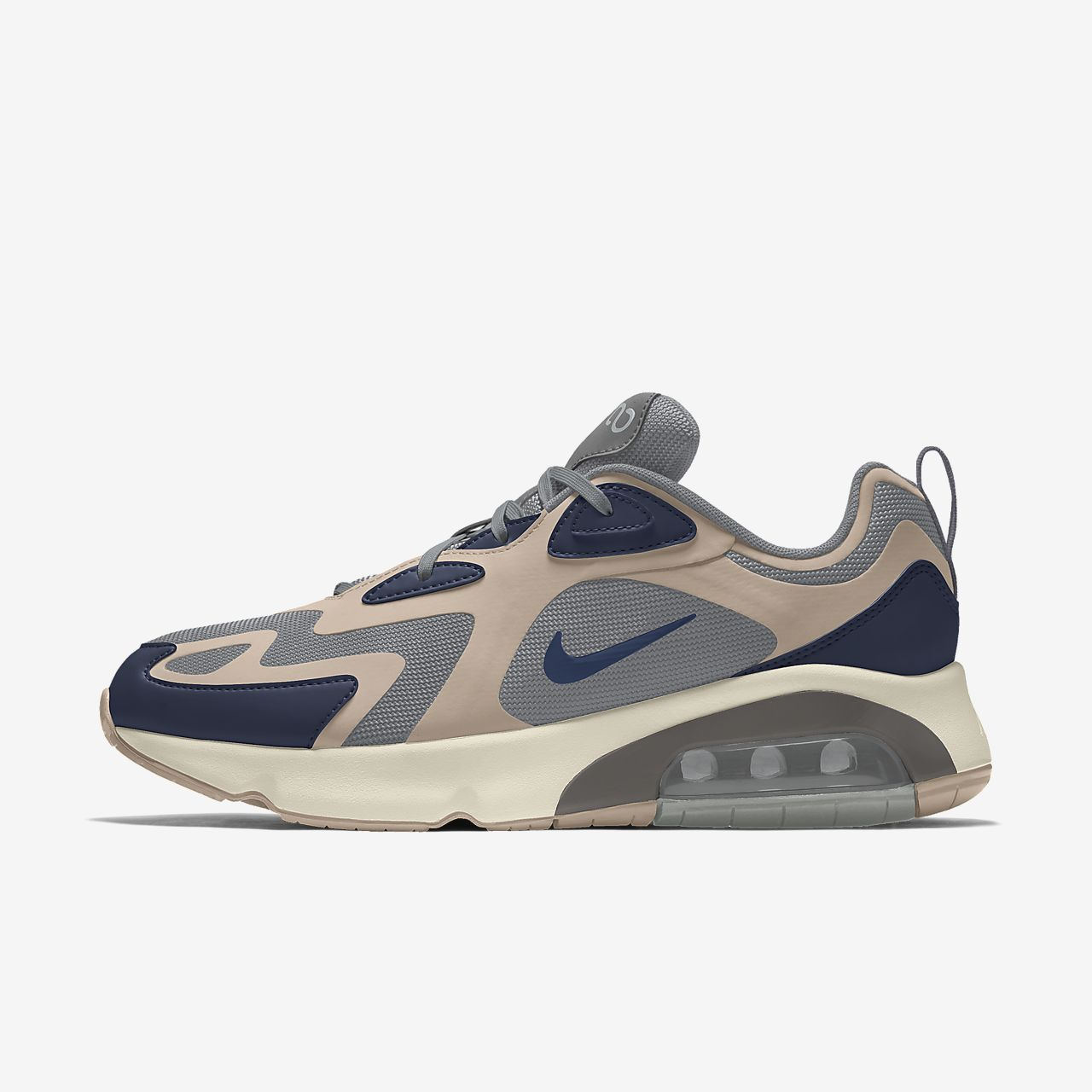 Calzado para mujer personalizado Nike Air Max 200 By You