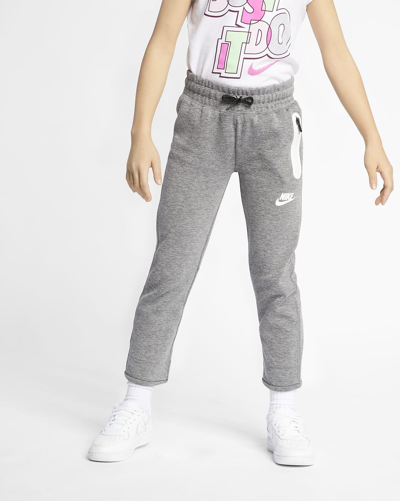 Spodnie dla małych dzieci Nike Sportswear Tech Fleece