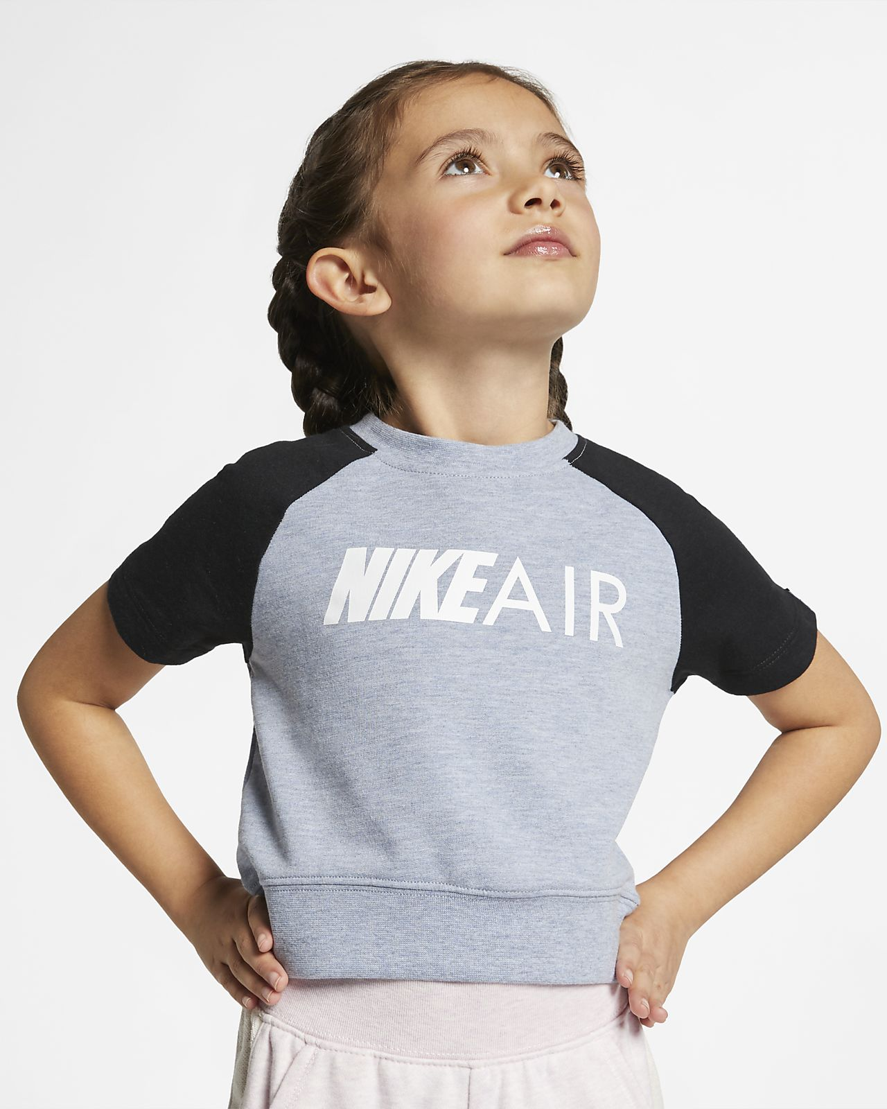 Nike Air Younger Kids' Cropped Top