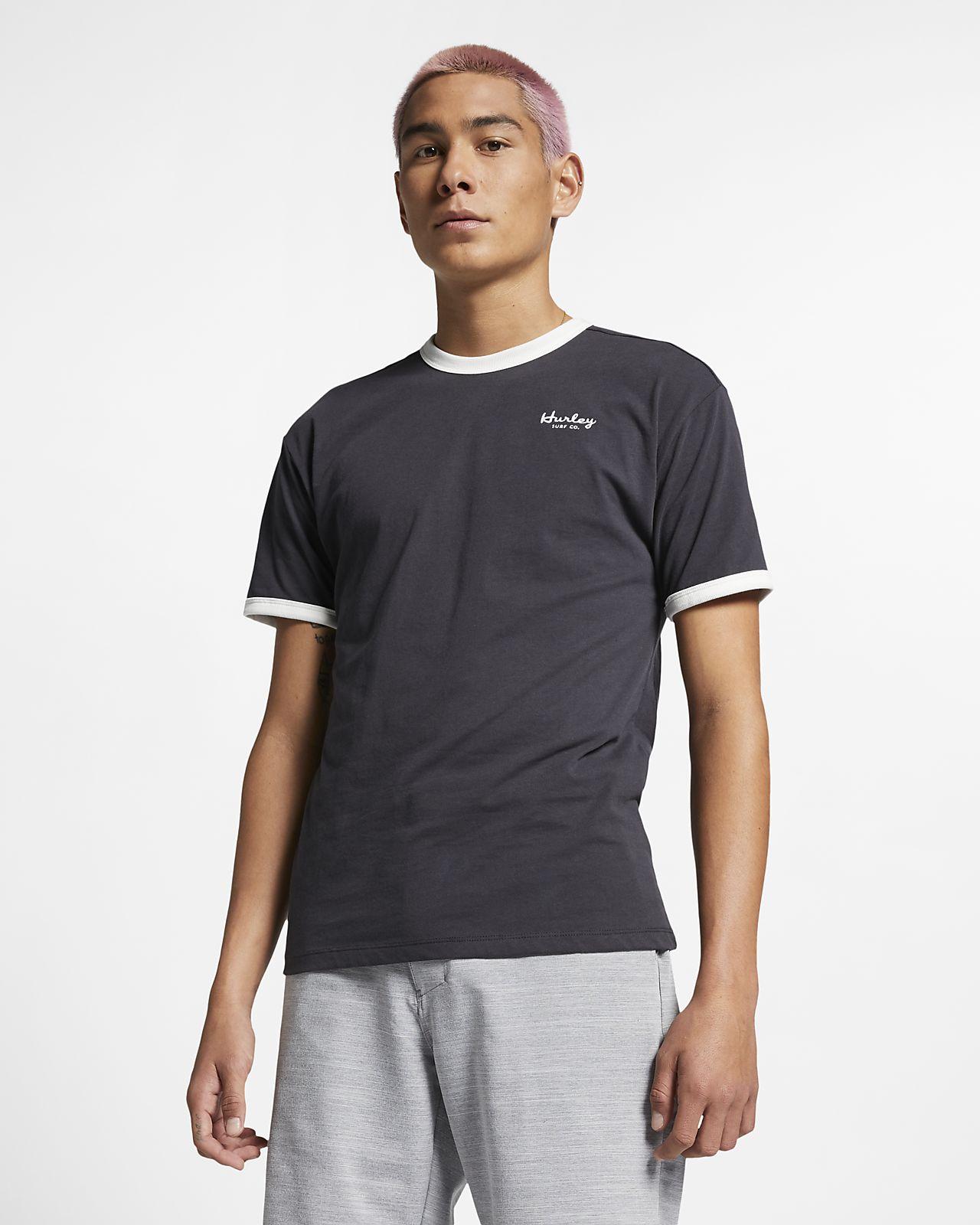 Hurley Mens Nike Dri-fit Premium Short Sleeve Tshirt