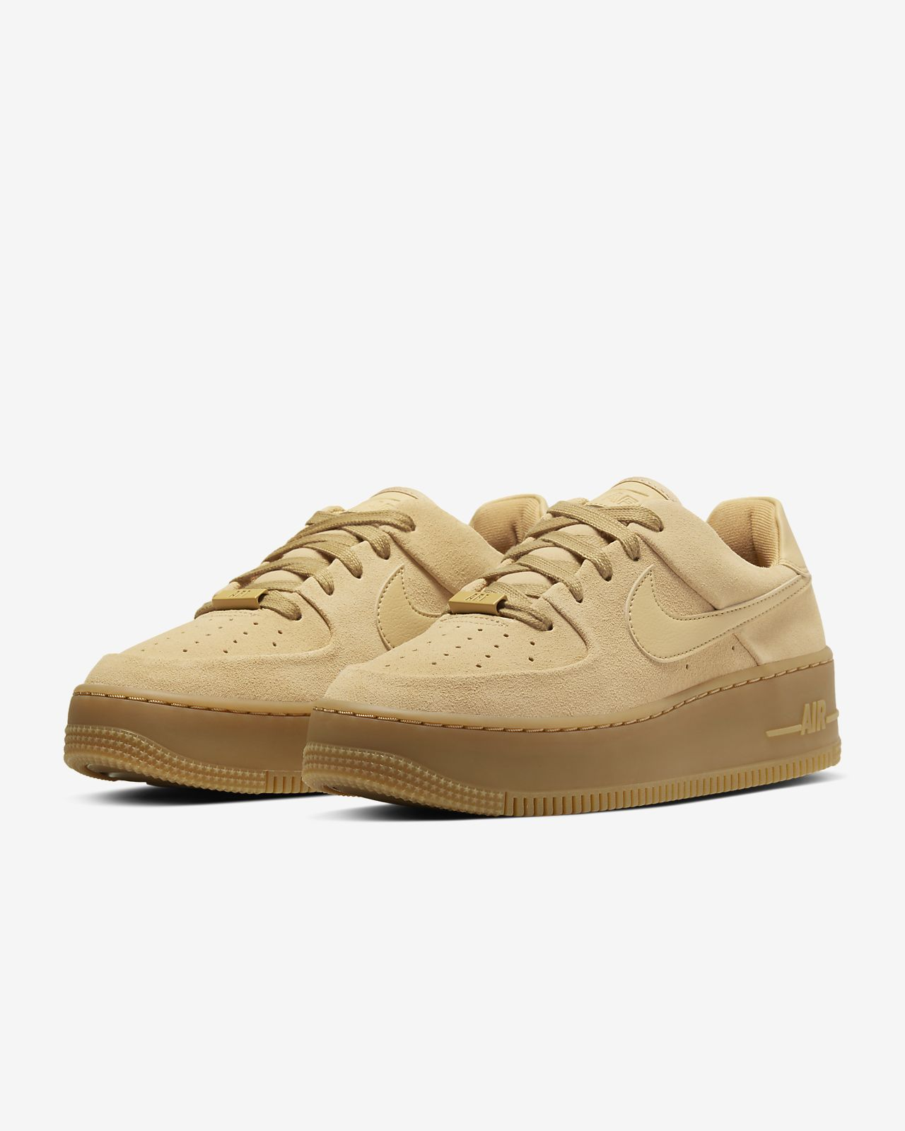 Nike Air Force 1 07 LV8 Suede Jasny Beż