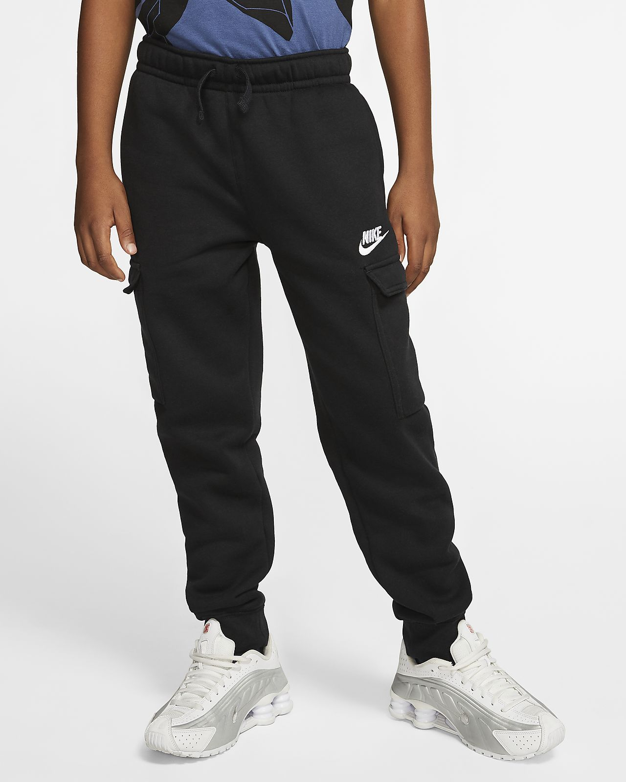 กางเกงคาร์โก้เด็กโต Nike Sportswear Club (ชาย)