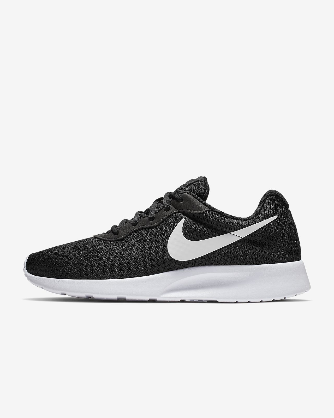 Nike TANJUN Mens NAVY White 812654 011 Lace Up Casual Shoes