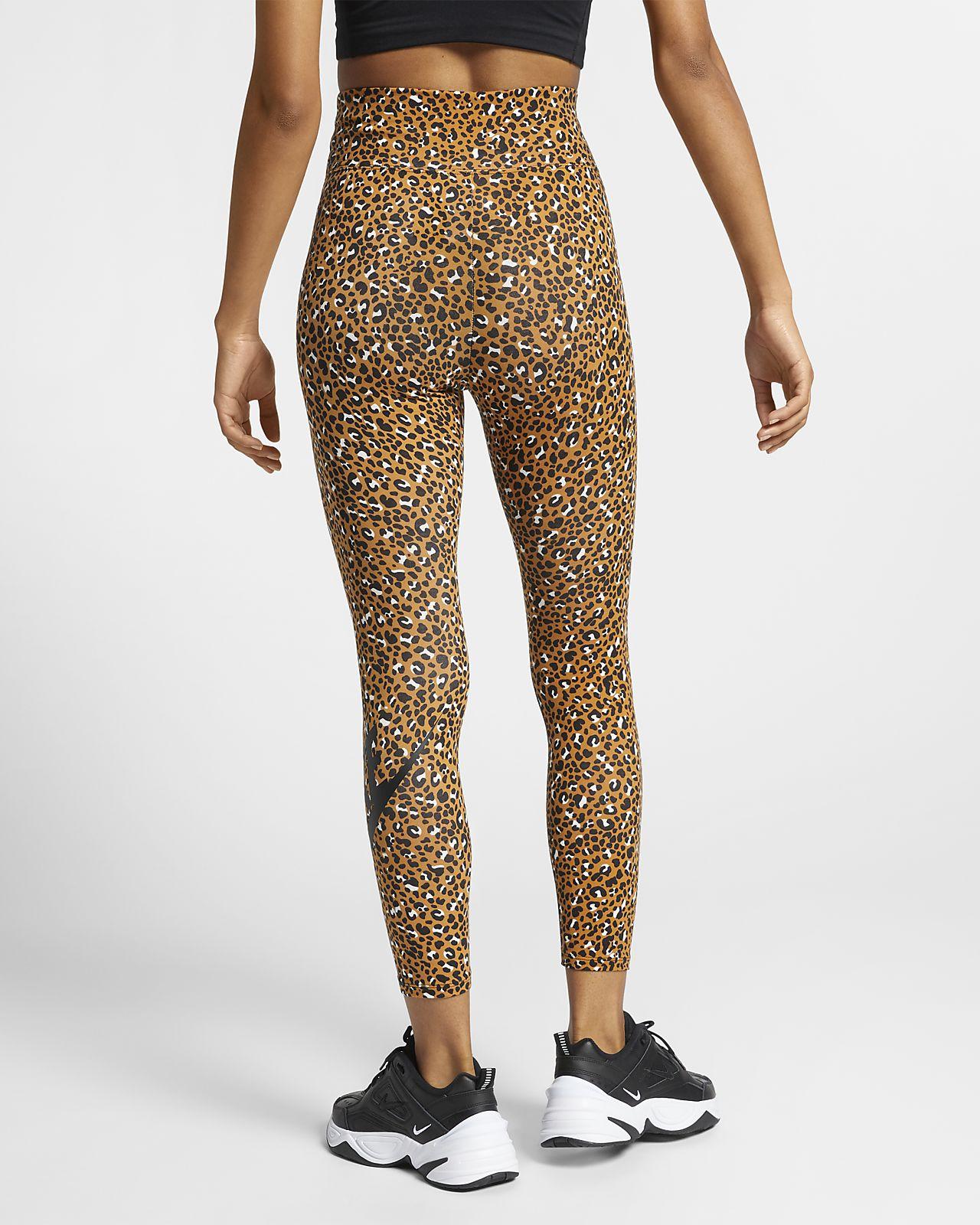 Nike Sportswear Animal Print Women's Leggings
