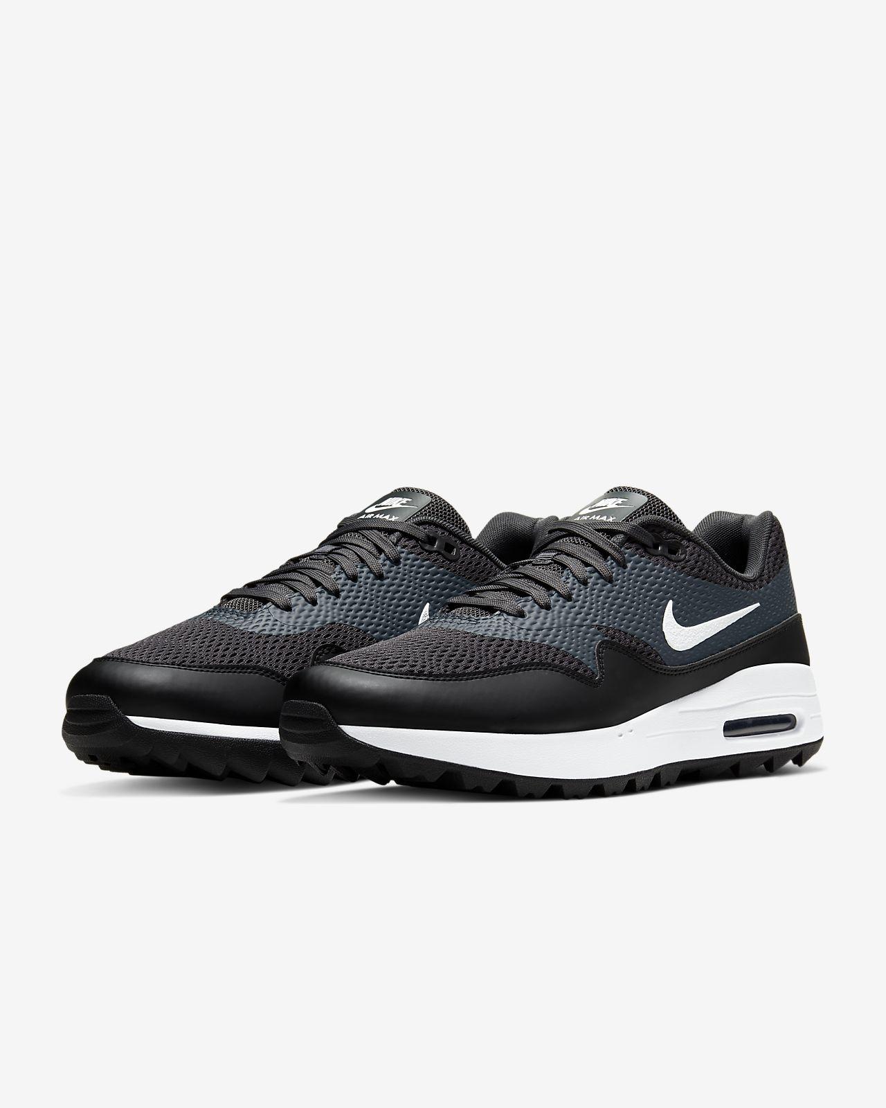 nike air max 1g golf shoes black