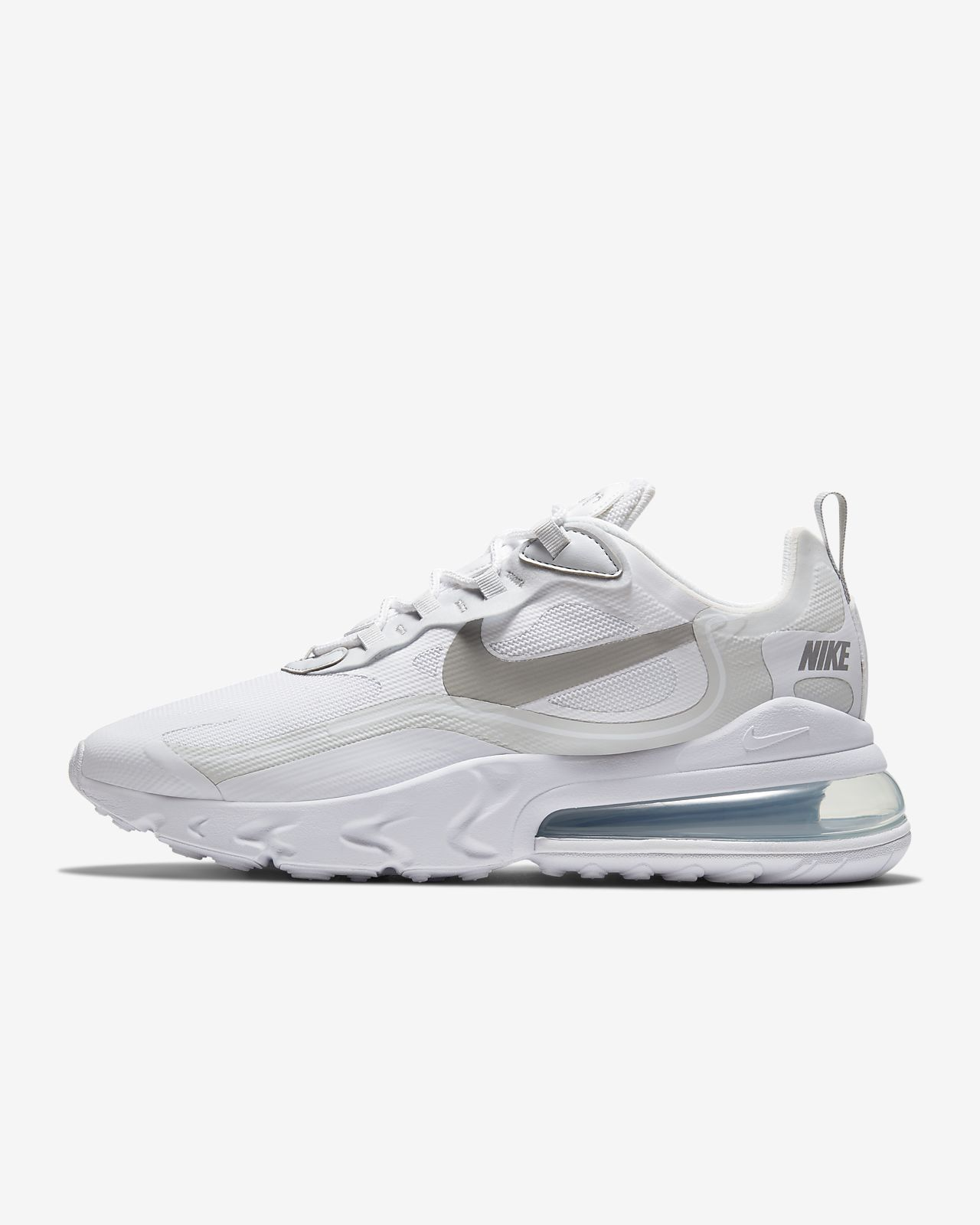 Nike Air Max 270 Reacet Running Shoes With White Logo